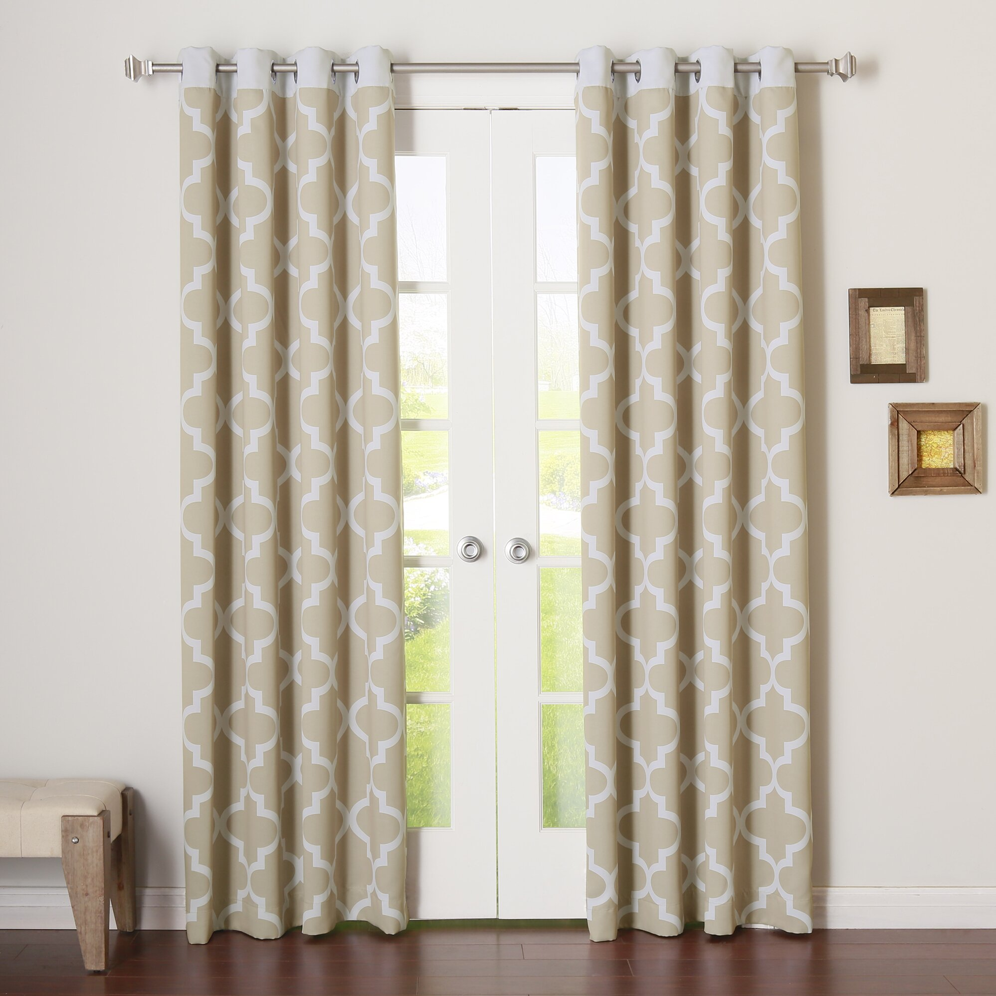 Best Home Fashion, Inc. Indoor Blackout Curtain Panels