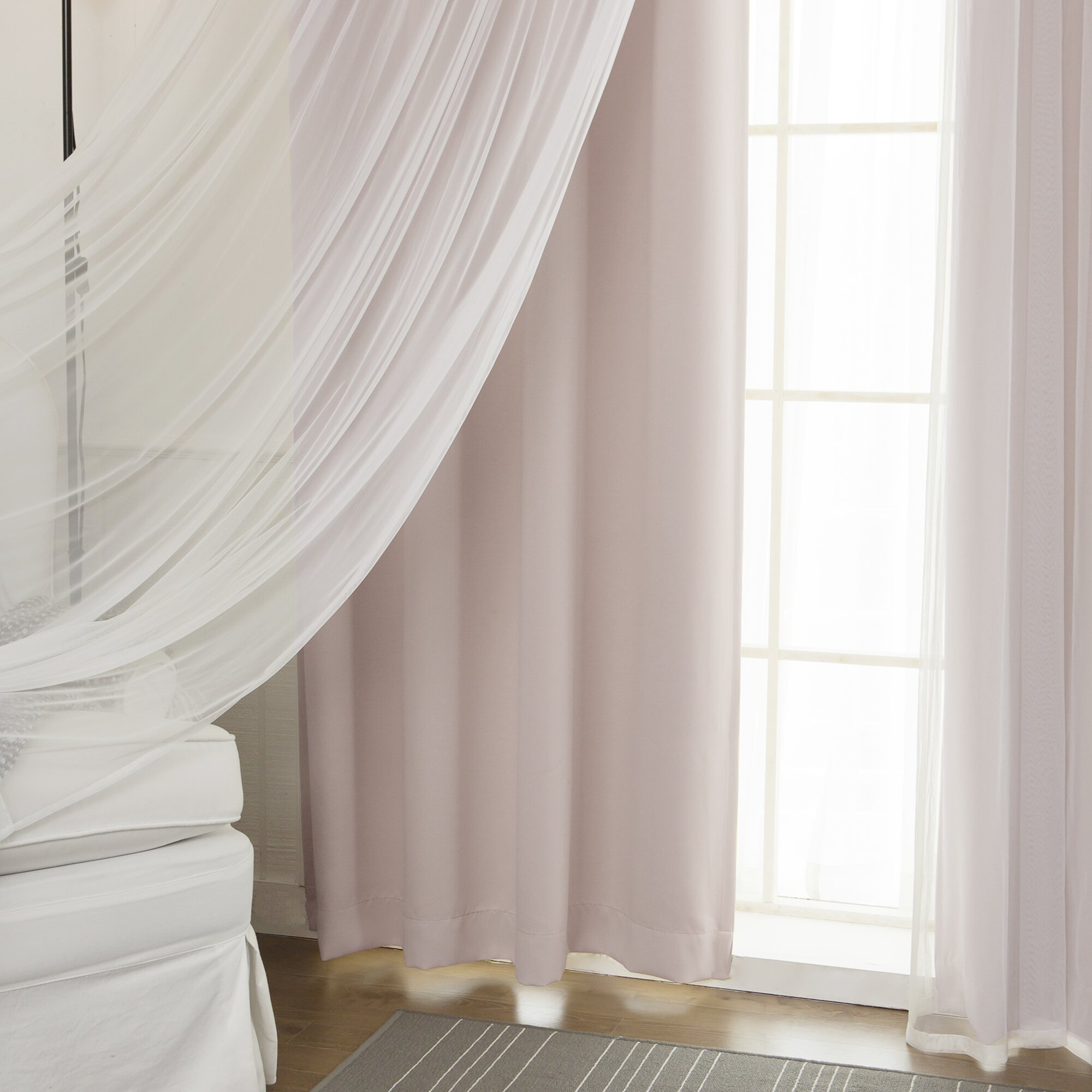 Best Home Fashion, Inc. Mix & Match Curtain Panel