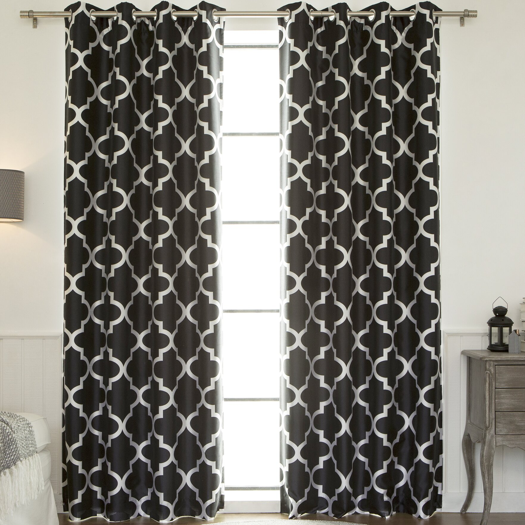 94 quot length curtains amp drapes best home fashion inc sku behf1383