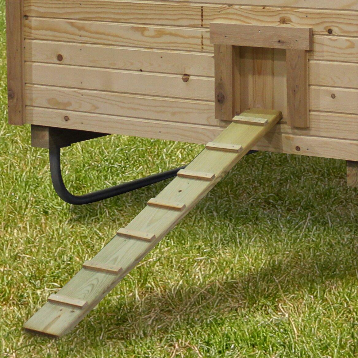 Alpine structures 4x6 ez fit chicken coop wayfair for 4x6 chicken coop