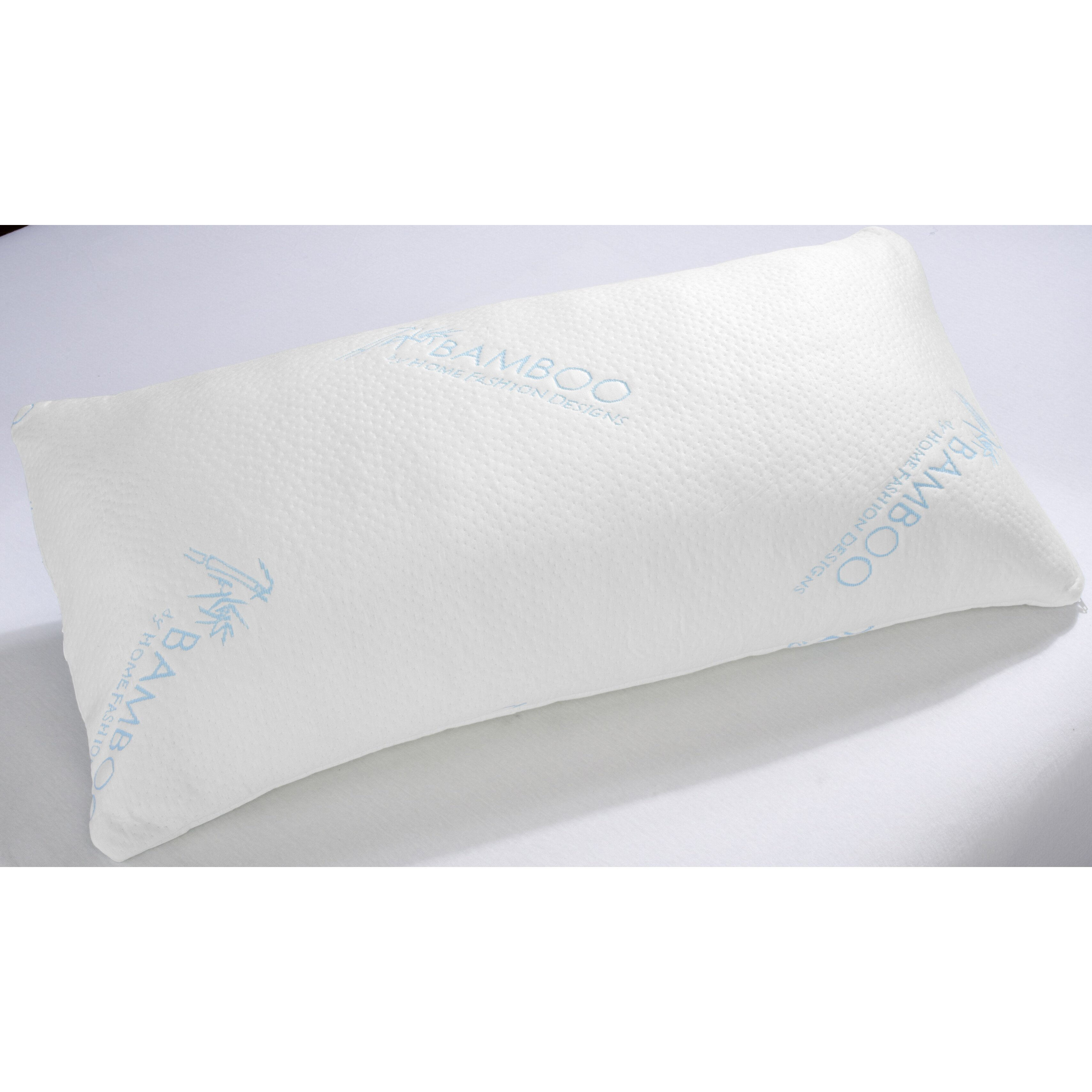 Home fashion design shredded memory foam pillow reviews for Bed pillows reviews