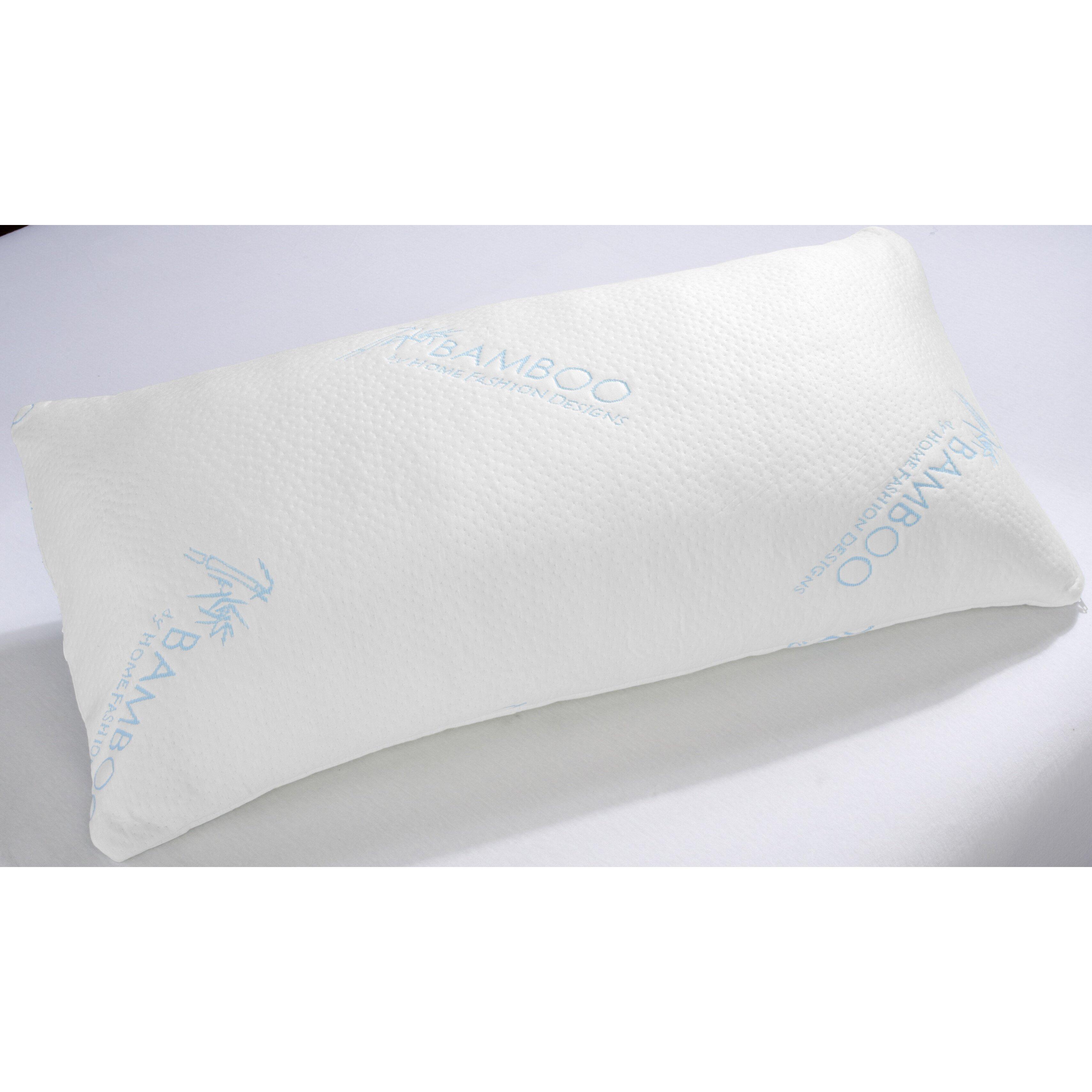 Home Fashion Design Shredded Memory Foam Pillow Amp Reviews