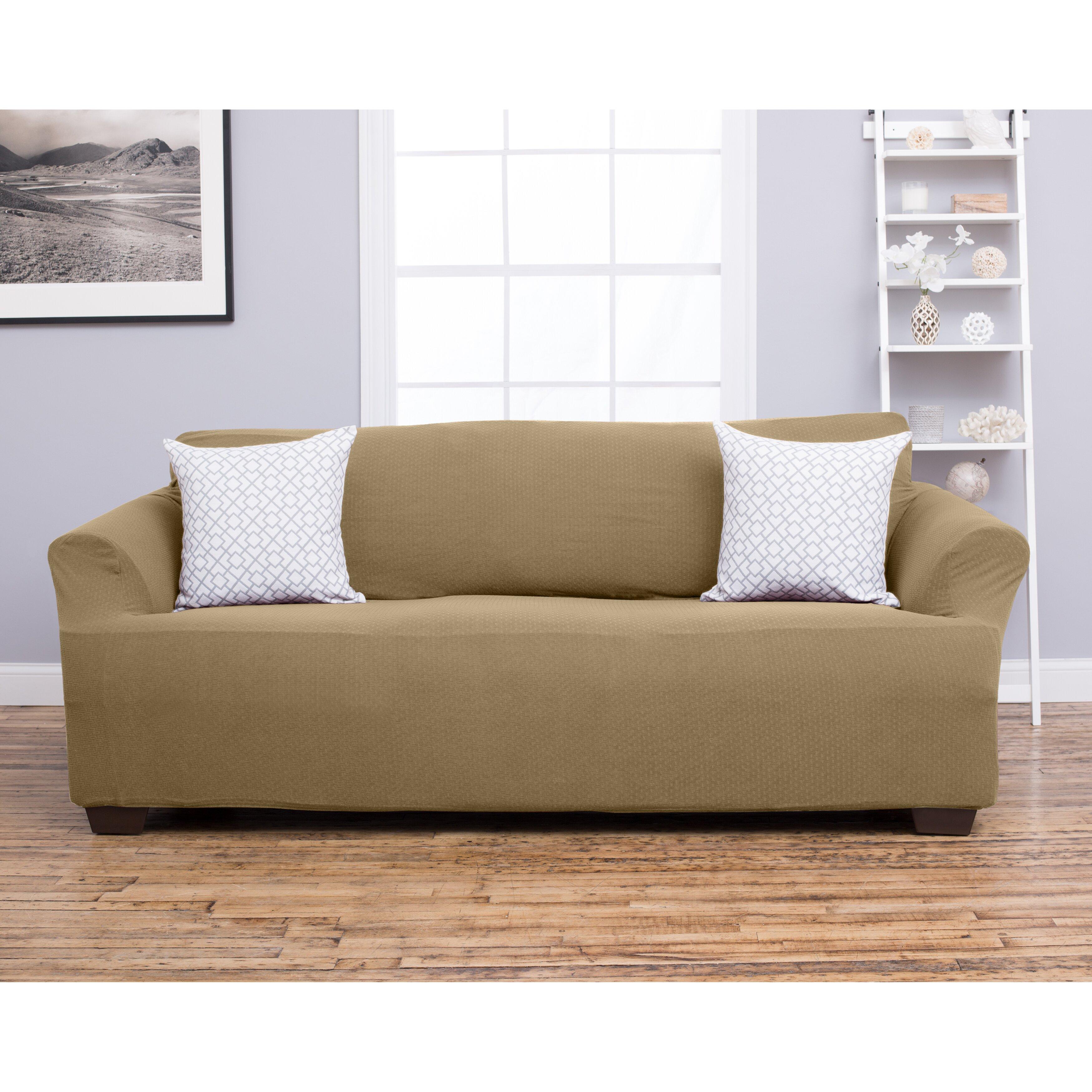 home fashion design amilio sofa slipcover reviews. Black Bedroom Furniture Sets. Home Design Ideas