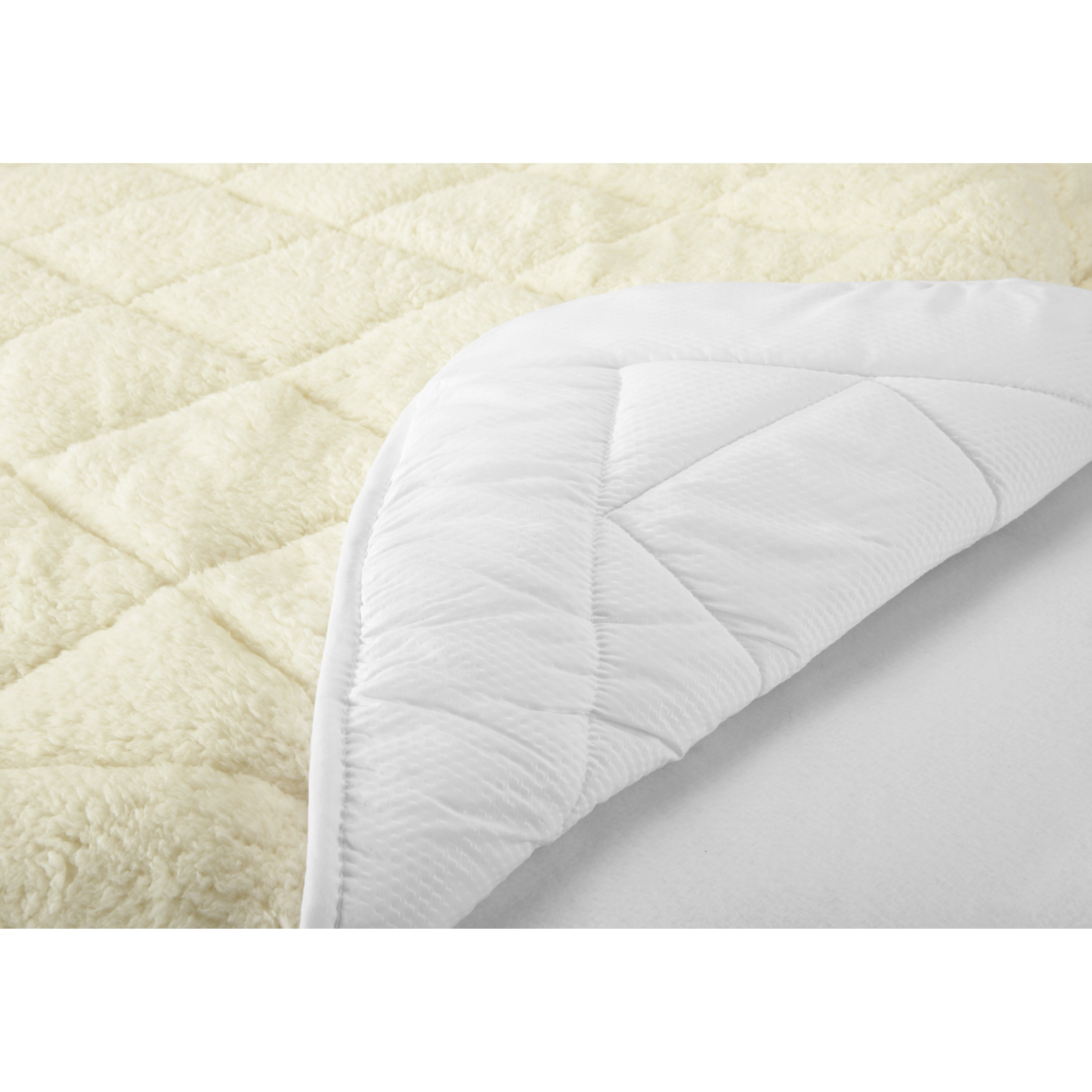 Home fashion design all season two in one reversible for Home design mattress pad