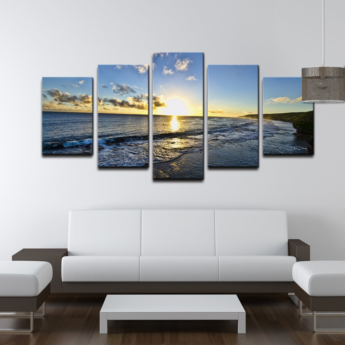 Ready2hangart 39 day break 39 by christopher doherty 5 piece for Ready set decor reviews