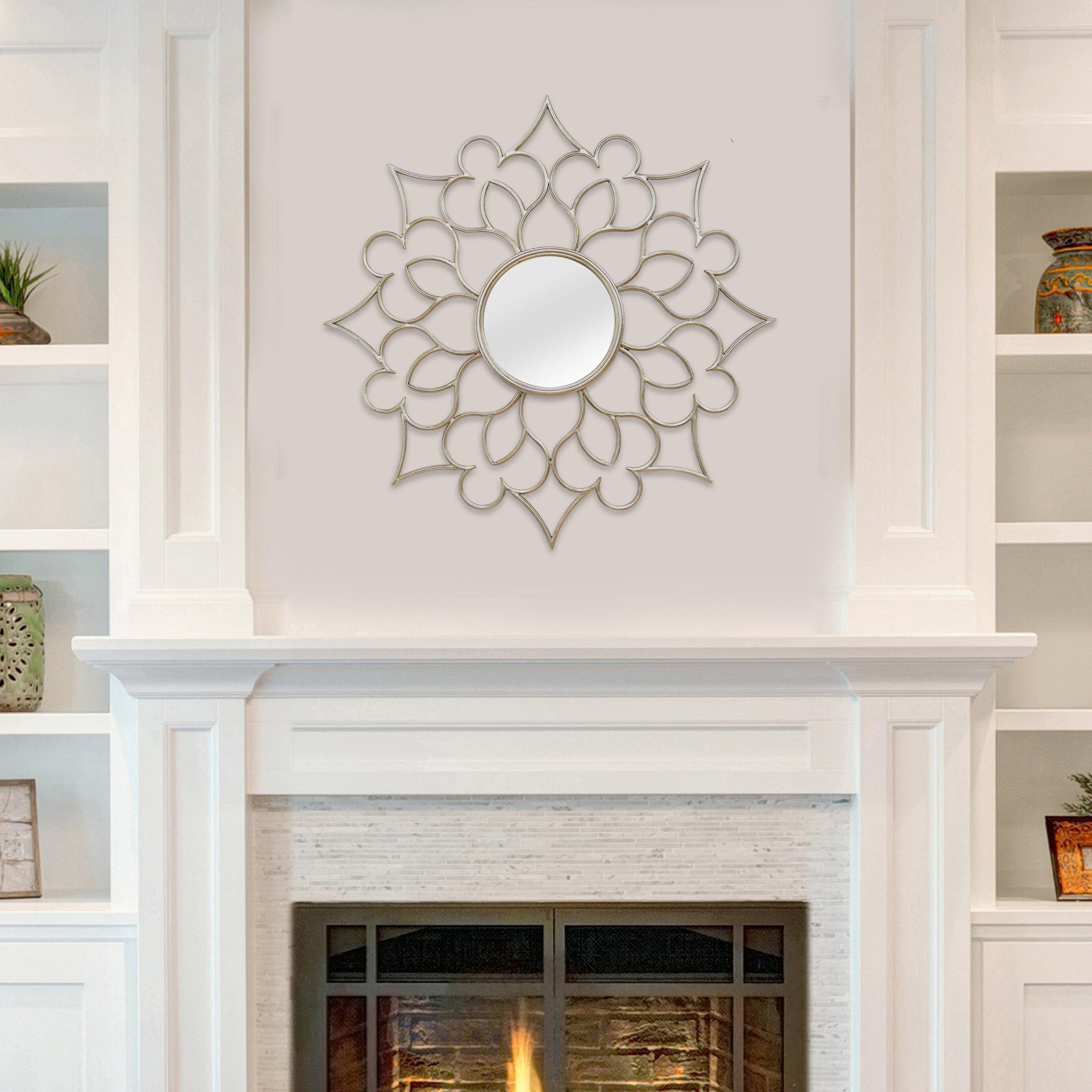 Stratton Home Decor Baroque Wall Mirror : Stratton home decor francesca wall mirror reviews wayfair