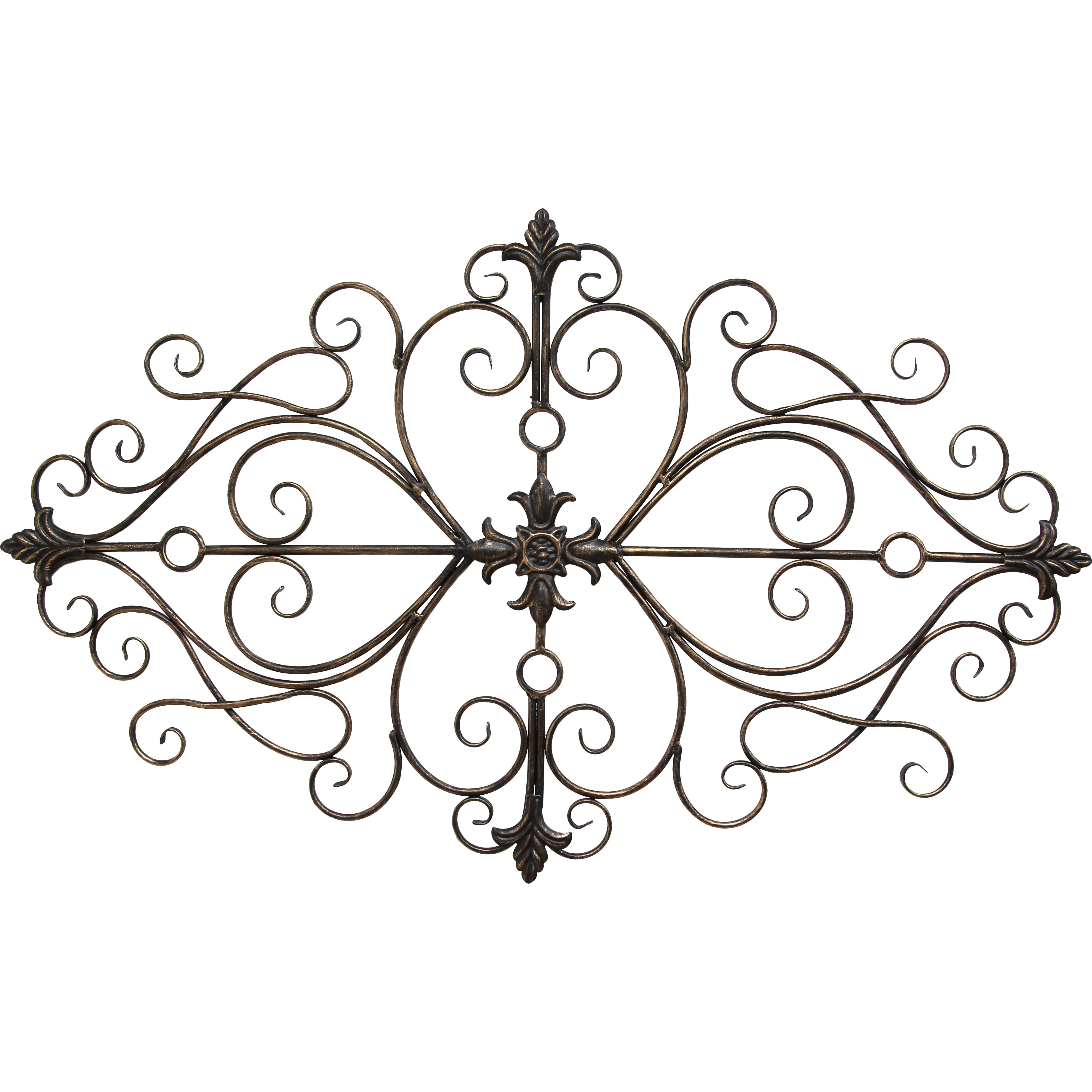 Stratton Home Decor Traditional Scroll Wall D Cor