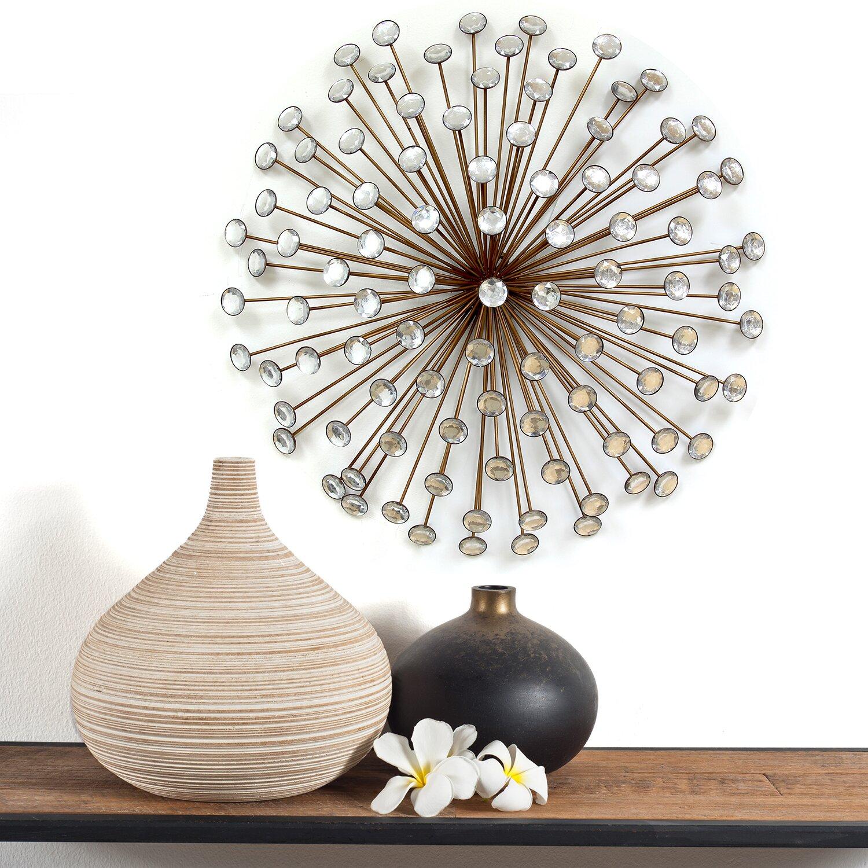Stratton home decor acrylic bling burst wall d cor for Bling decor