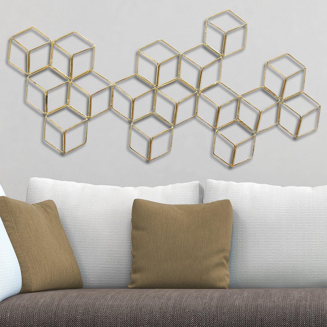 stratton home decor stratton modern geometric wall d 233 cor