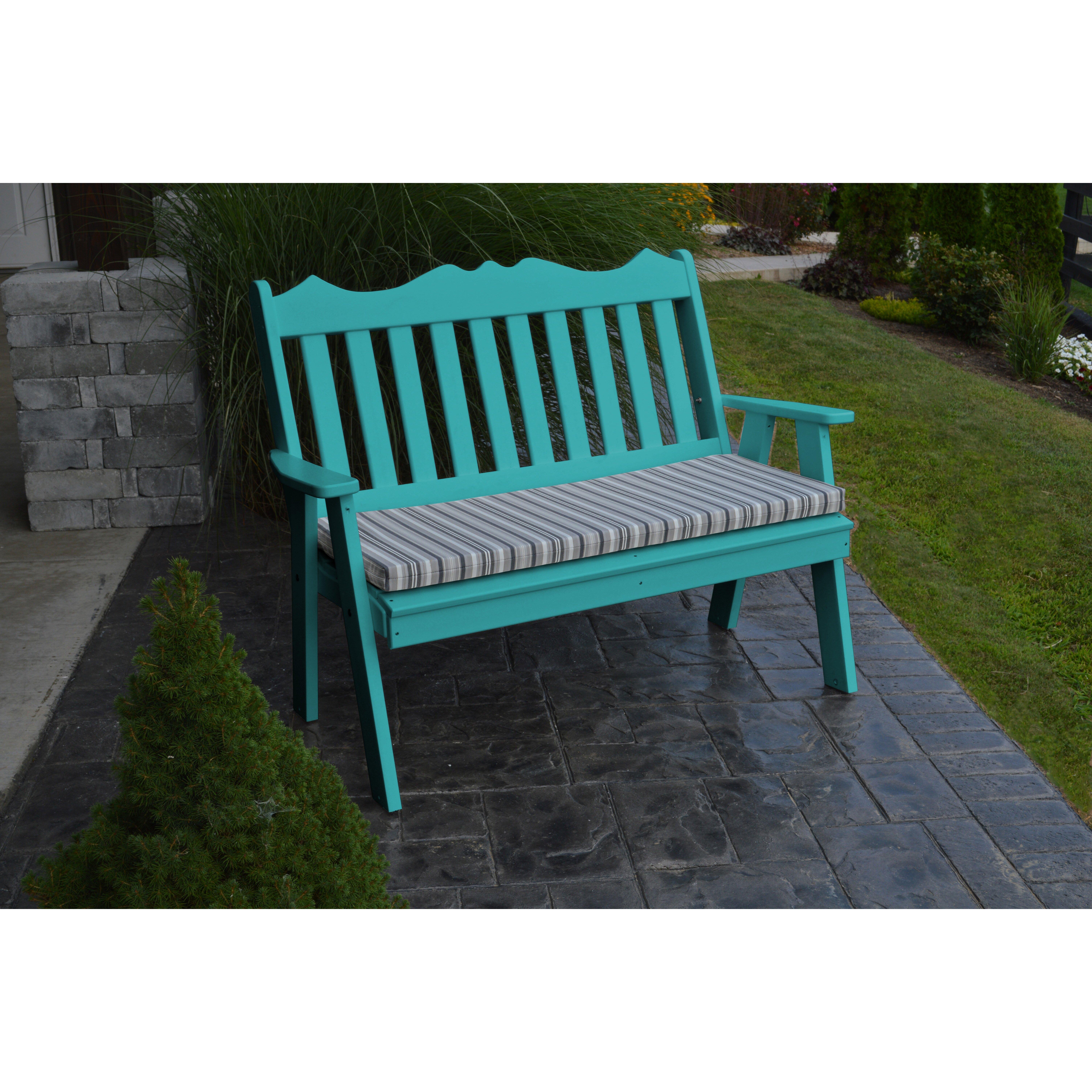 A L Furniture Royal English Garden Bench Reviews Wayfair
