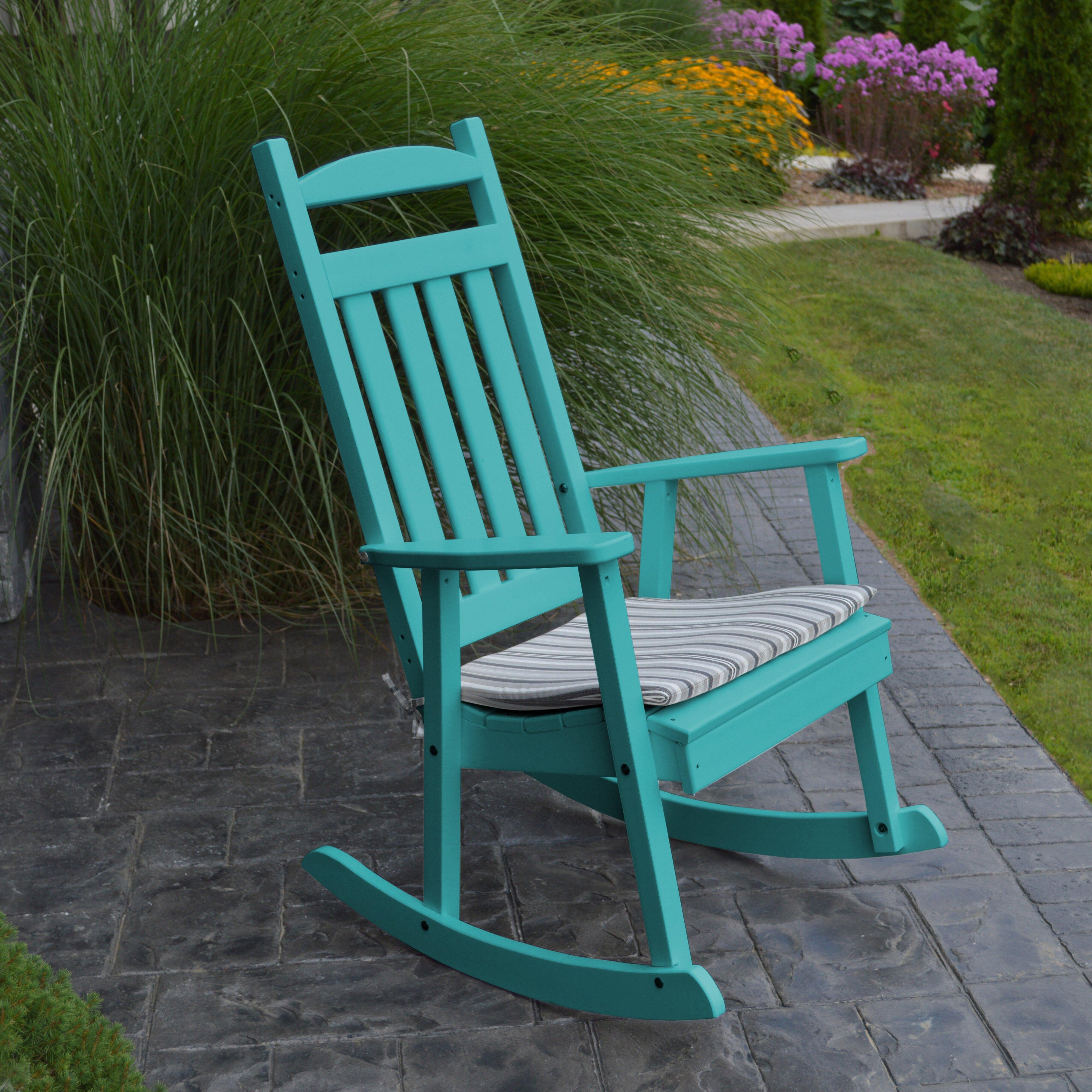 Furniture ... Plastic Patio Rocking Chairs & Gliders A&L Furniture ...