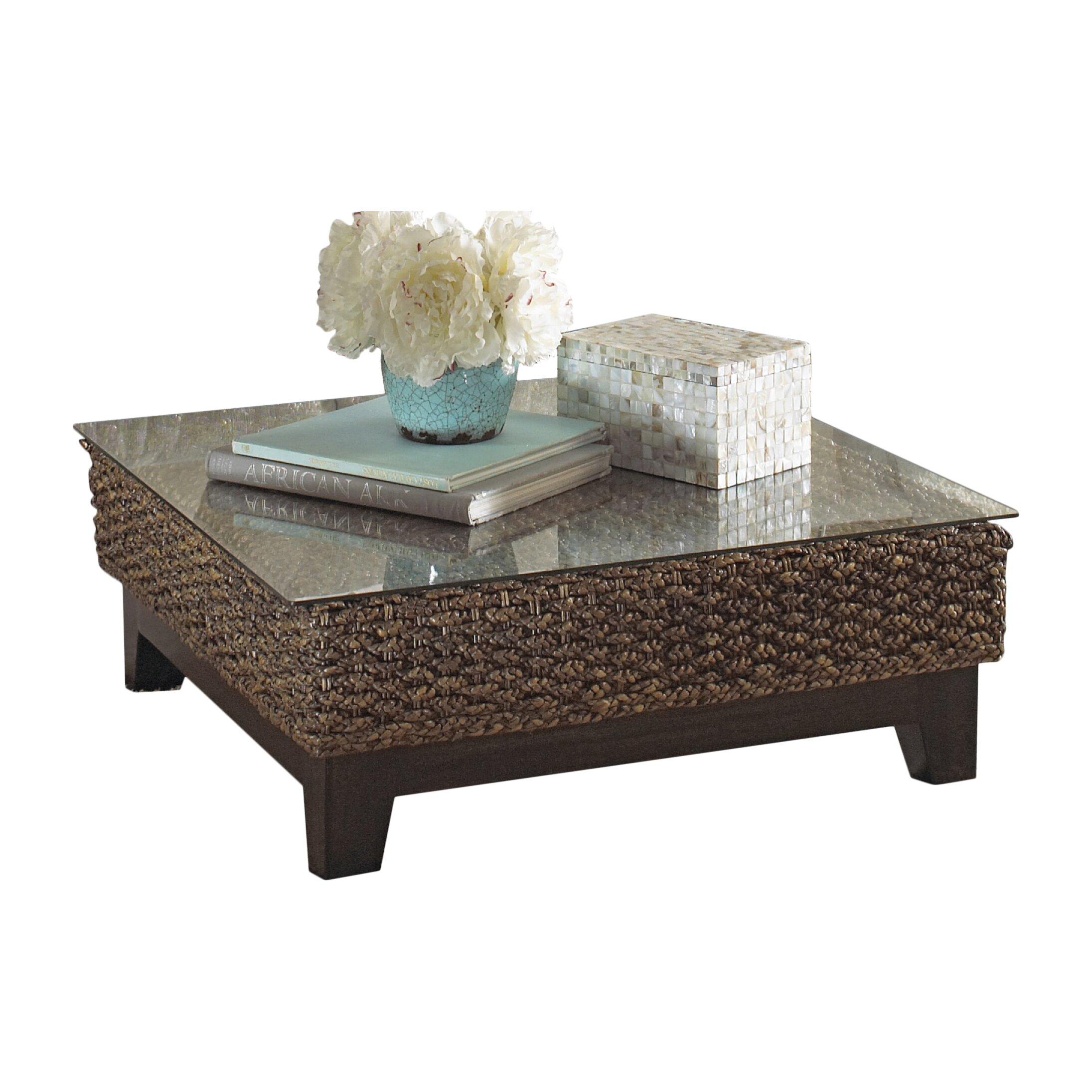 panama jack sunroom sanibel coffee table reviews wayfair. Black Bedroom Furniture Sets. Home Design Ideas