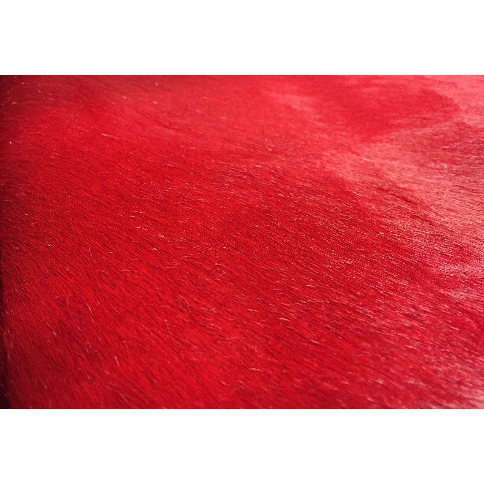 Chesterfield leather extra large dyed brazilian cowhide for Large red area rugs