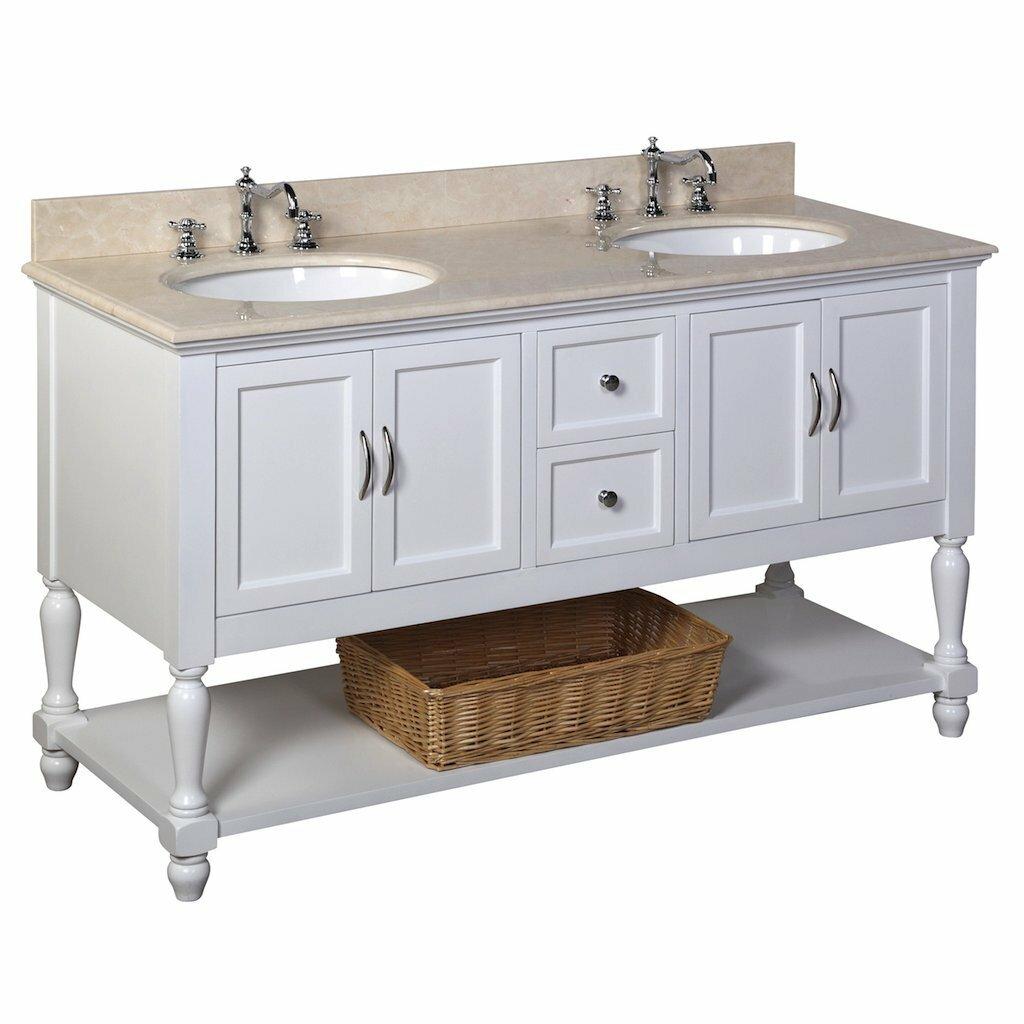 KBC Beverly 60 Double Bathroom Vanity Set Reviews Wayfair