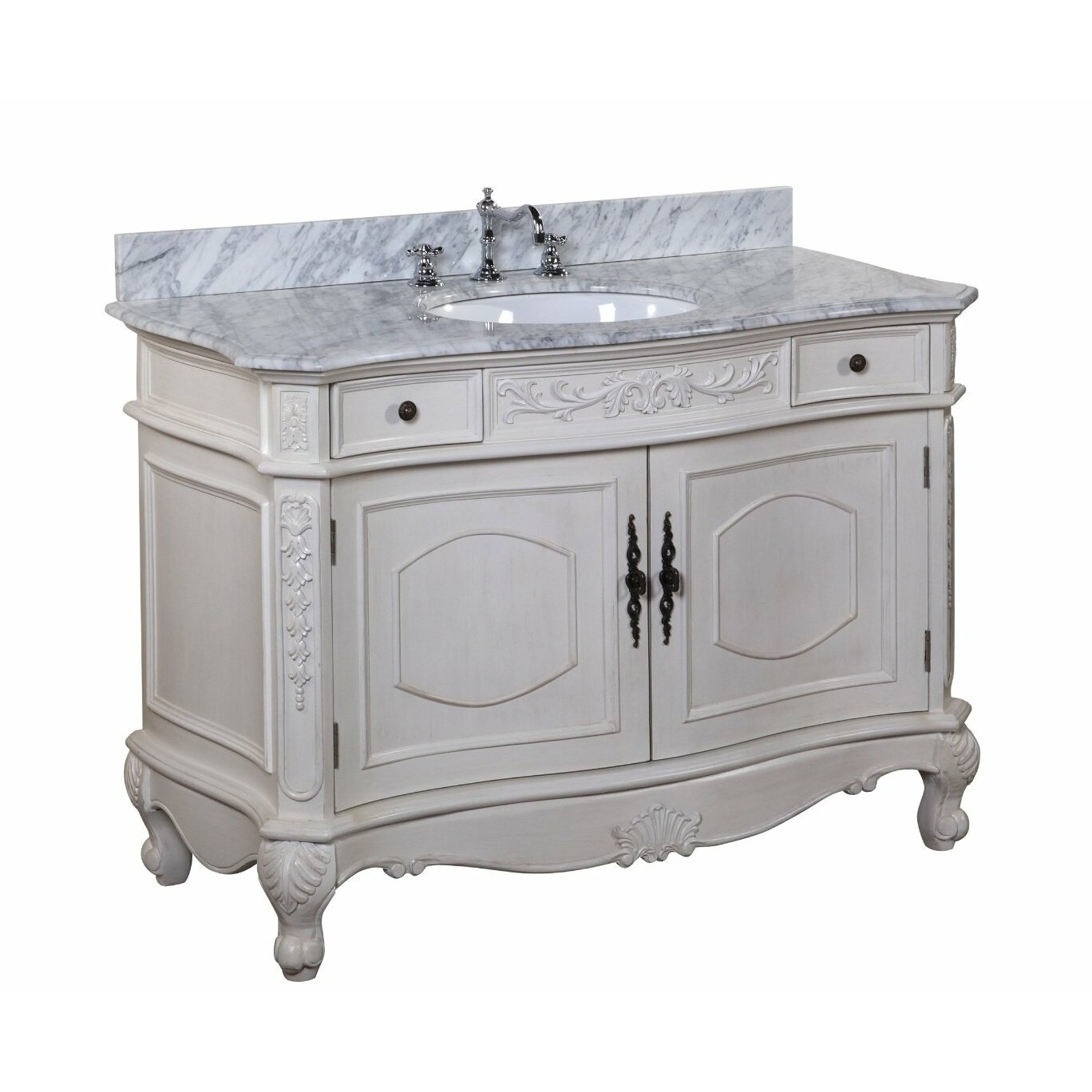kbc versailles 48 quot single bathroom vanity set amp reviews