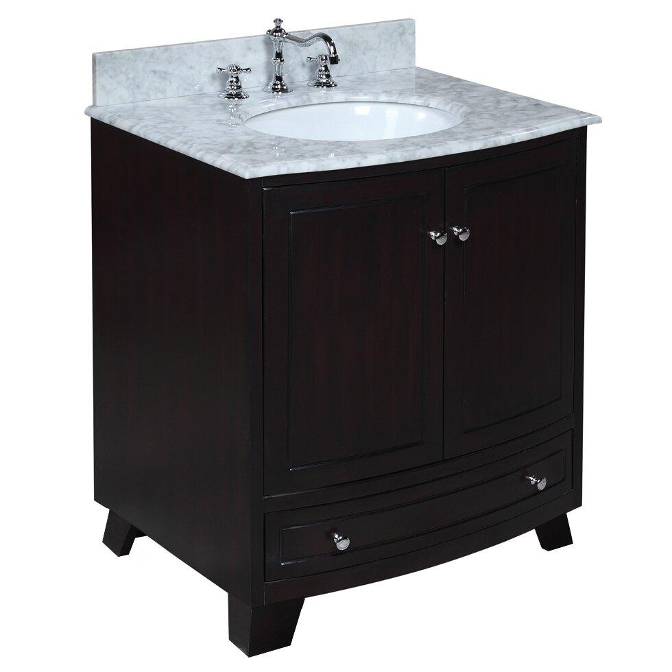 Kbc Palazzo 30 Single Bathroom Vanity Set Reviews Wayfair