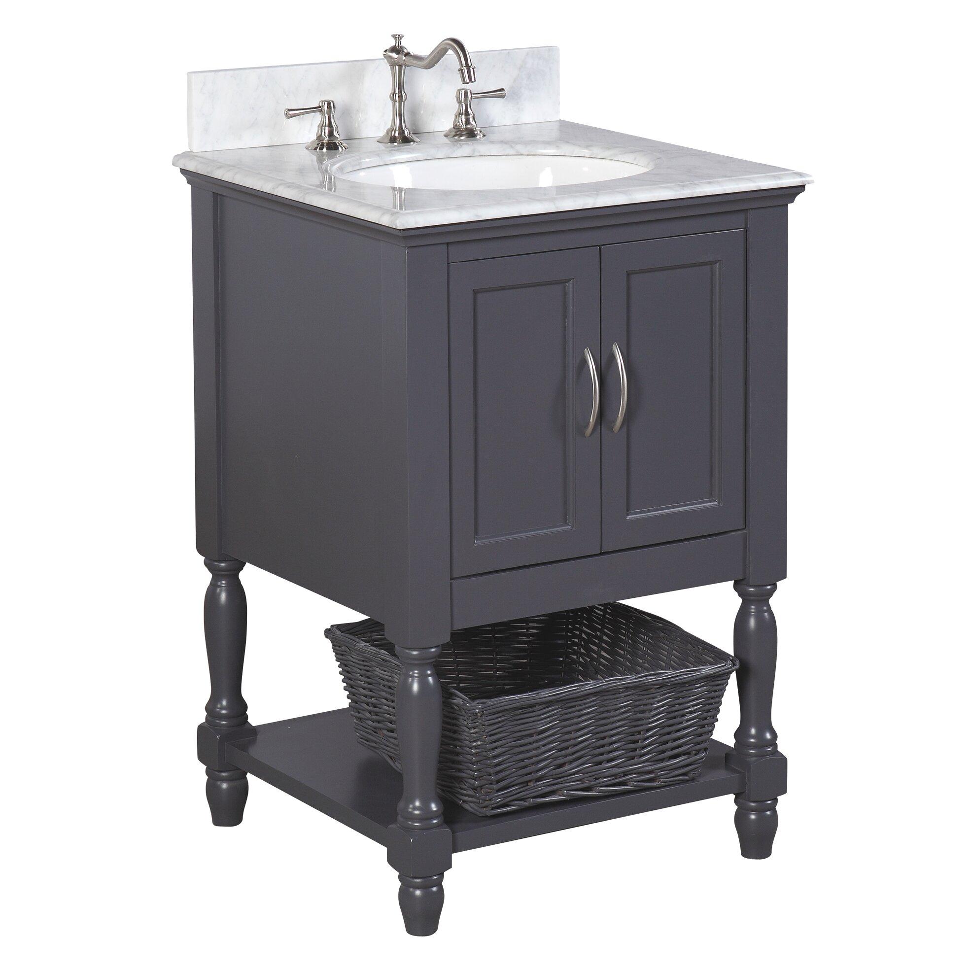 Kbc Beverly 24 Single Bathroom Vanity Set Reviews Wayfair
