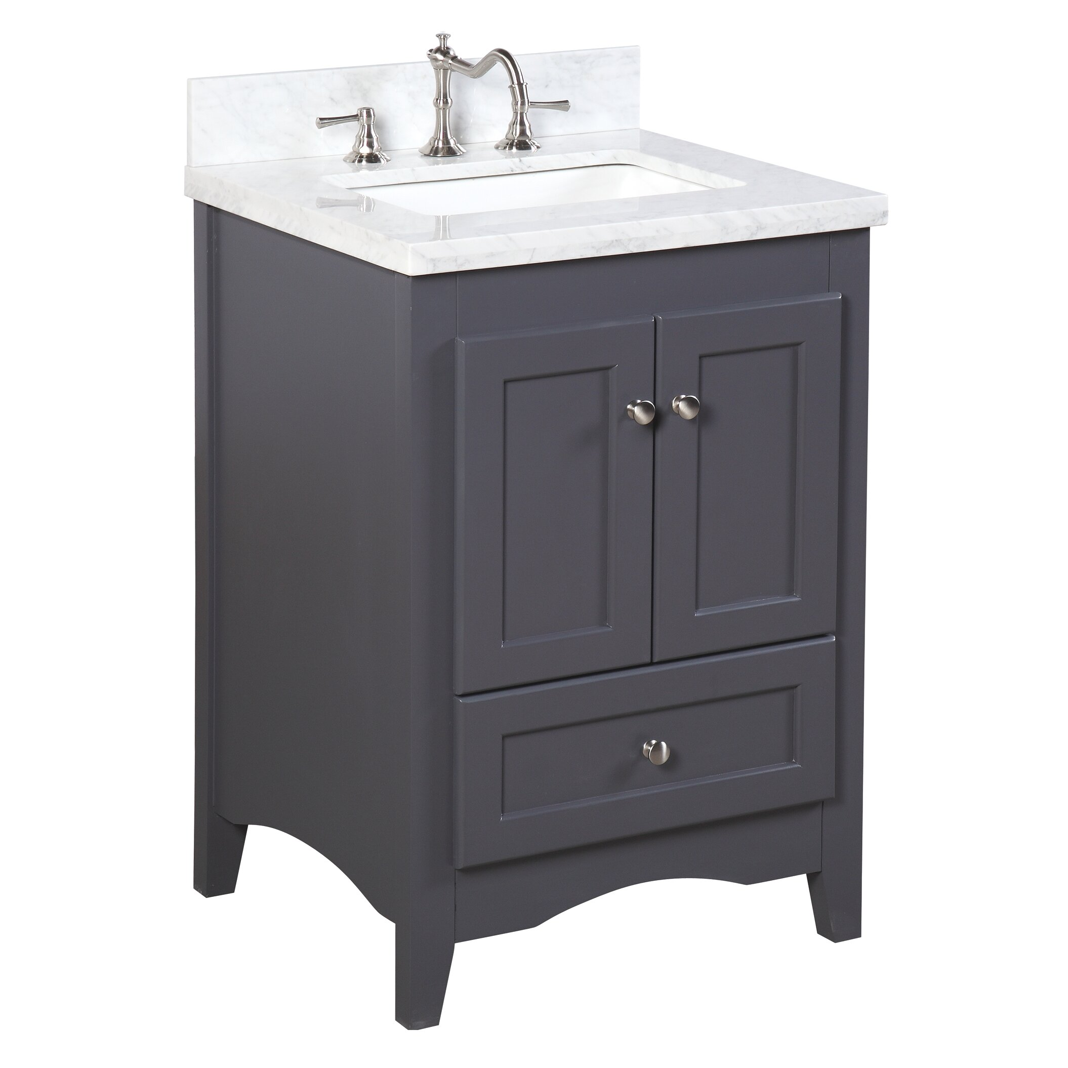 Kbc Abbey 24 Quot Single Bathroom Vanity Set Amp Reviews Wayfair