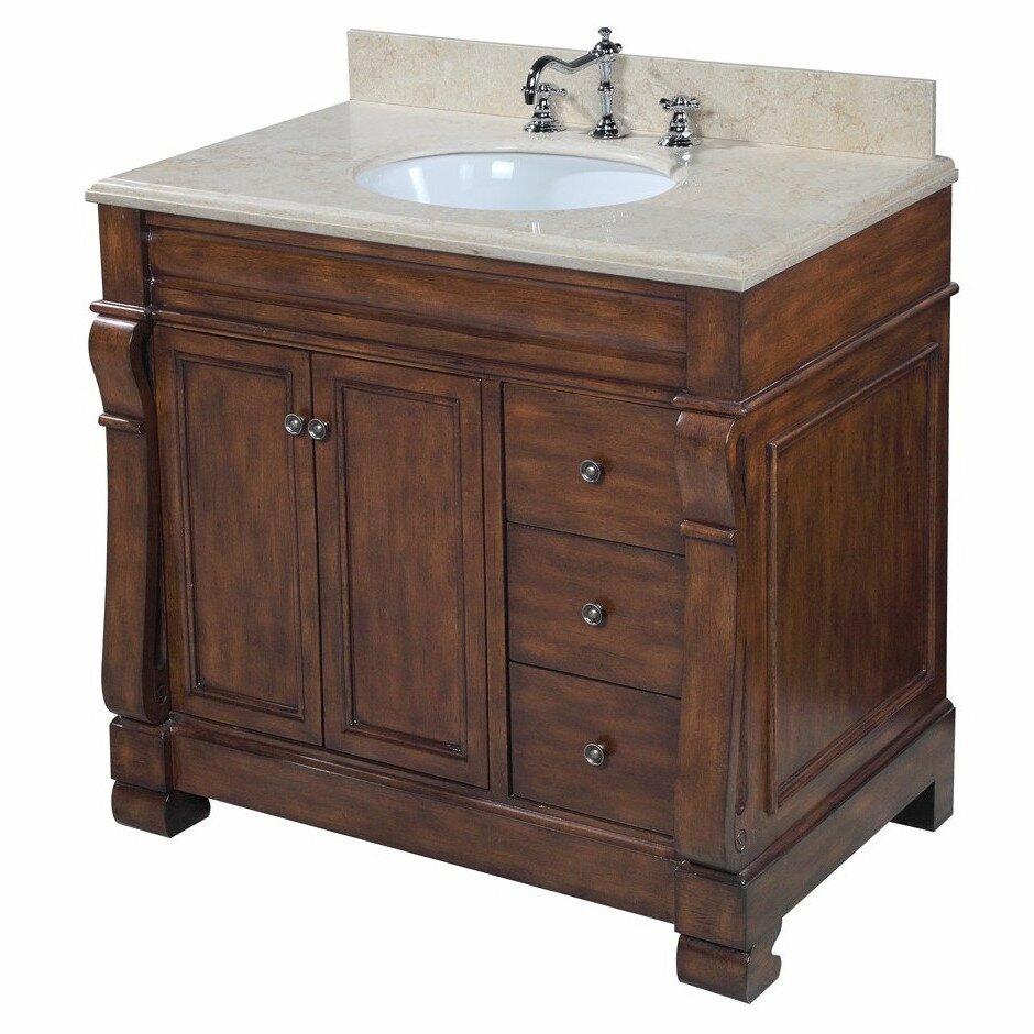 kbc westminster 36 single bathroom vanity set reviews wayfair. Black Bedroom Furniture Sets. Home Design Ideas