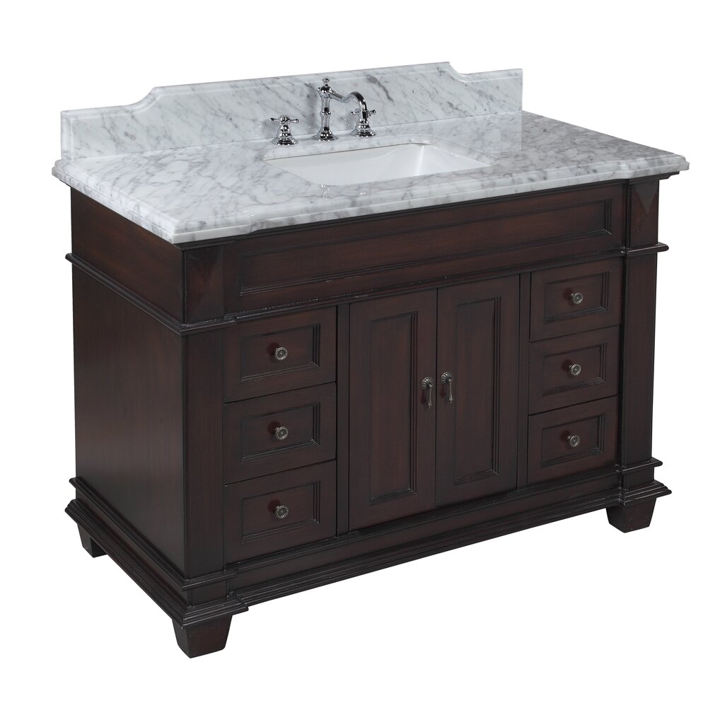 Kbc Elizabeth 48 Single Bathroom Vanity Set Reviews Wayfair