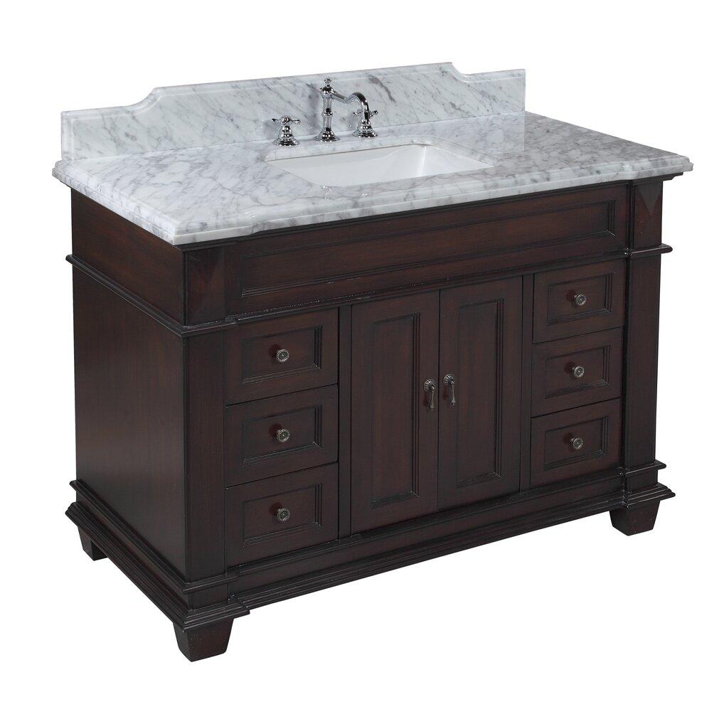 Kbc Elizabeth 48 Quot Single Bathroom Vanity Set Amp Reviews