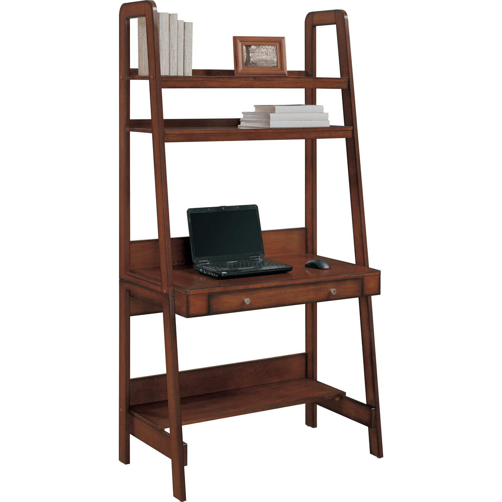 Red Barrel Studio Quattro Leaning Ladder Desk Amp Reviews