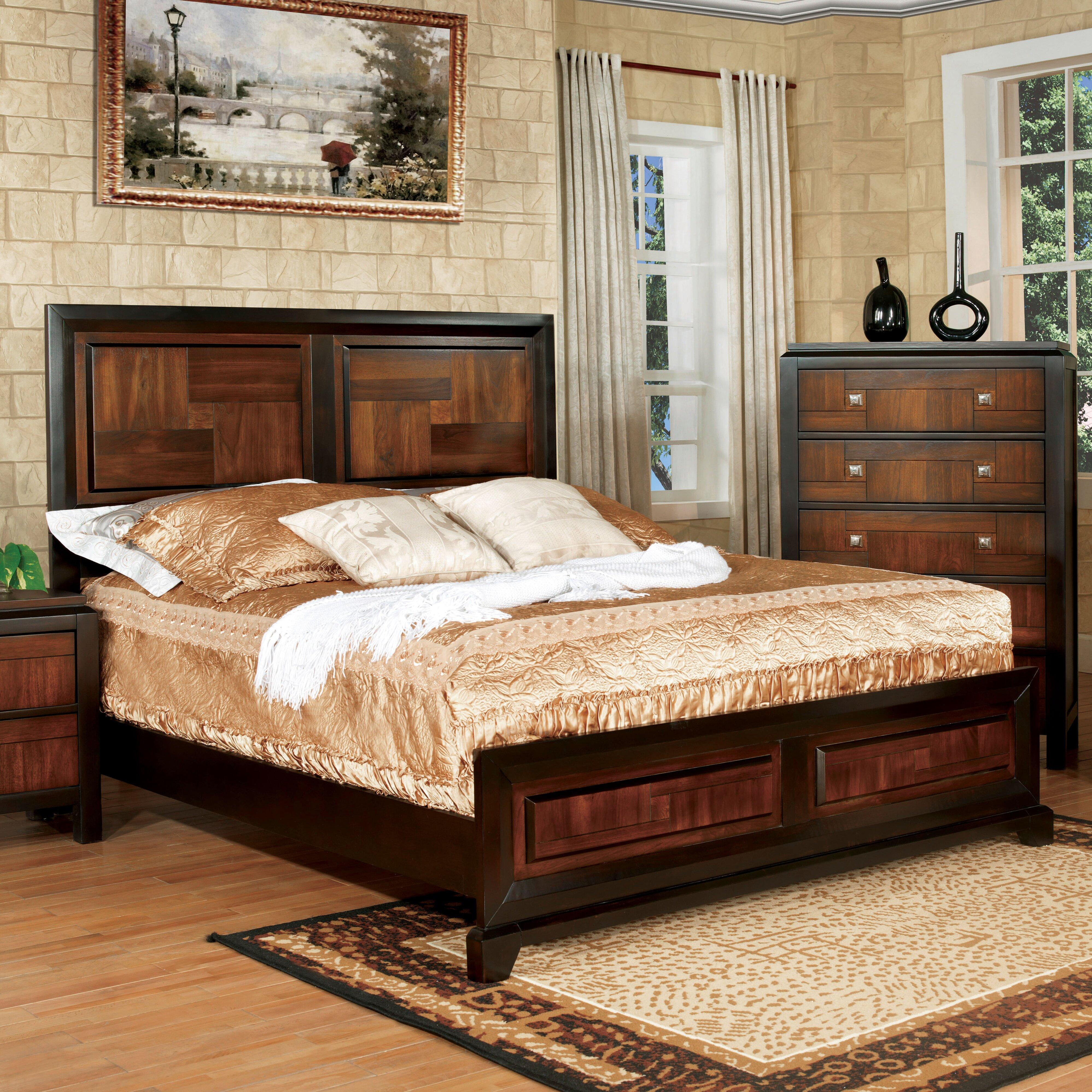 Red Barrel Studio Diamondback Panel Customizable Bedroom