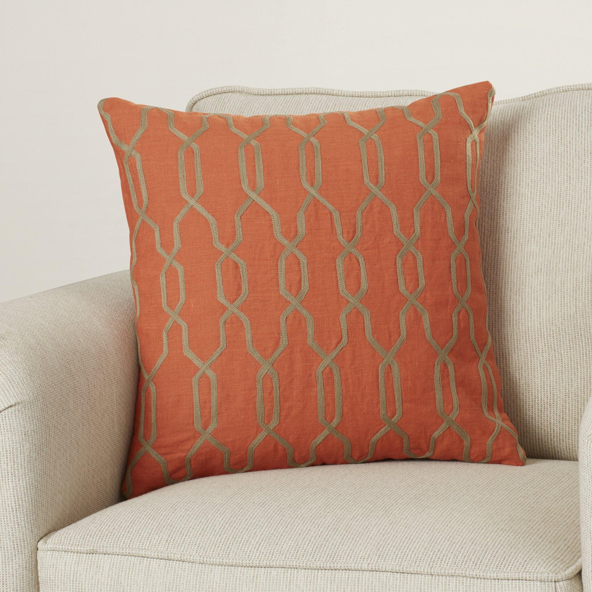Red Barrel Studio Edgell Geometric Throw Pillow Amp Reviews