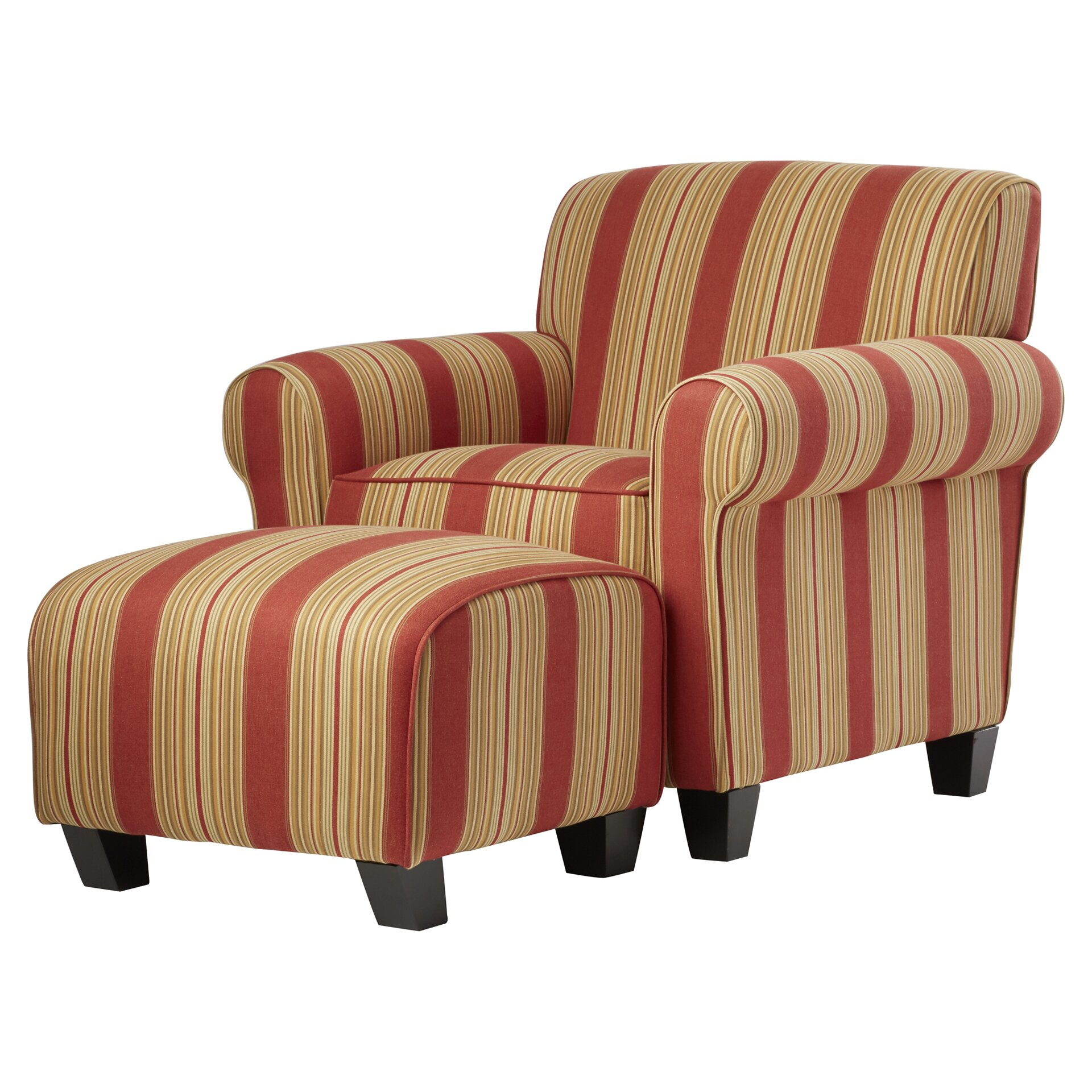 Red barrel studio raven chair and ottoman reviews wayfair for Chair with ottoman