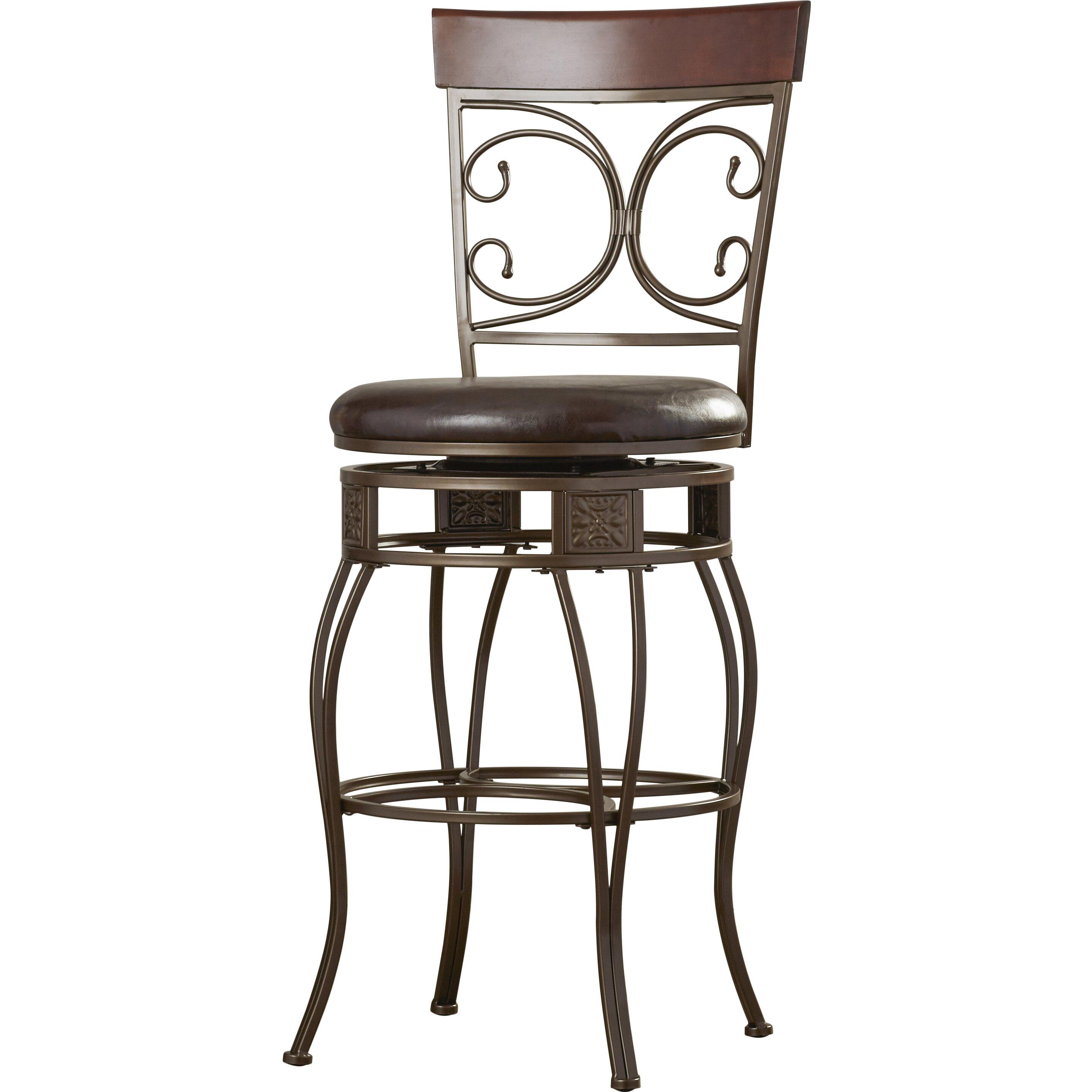 Red Barrel Studio Paladin XL 30quot Swivel Bar Stool with  : Big and Tall XL 30 Swivel Bar Stool with Cushion 938 851 from www.wayfair.ca size 2874 x 2874 jpeg 494kB