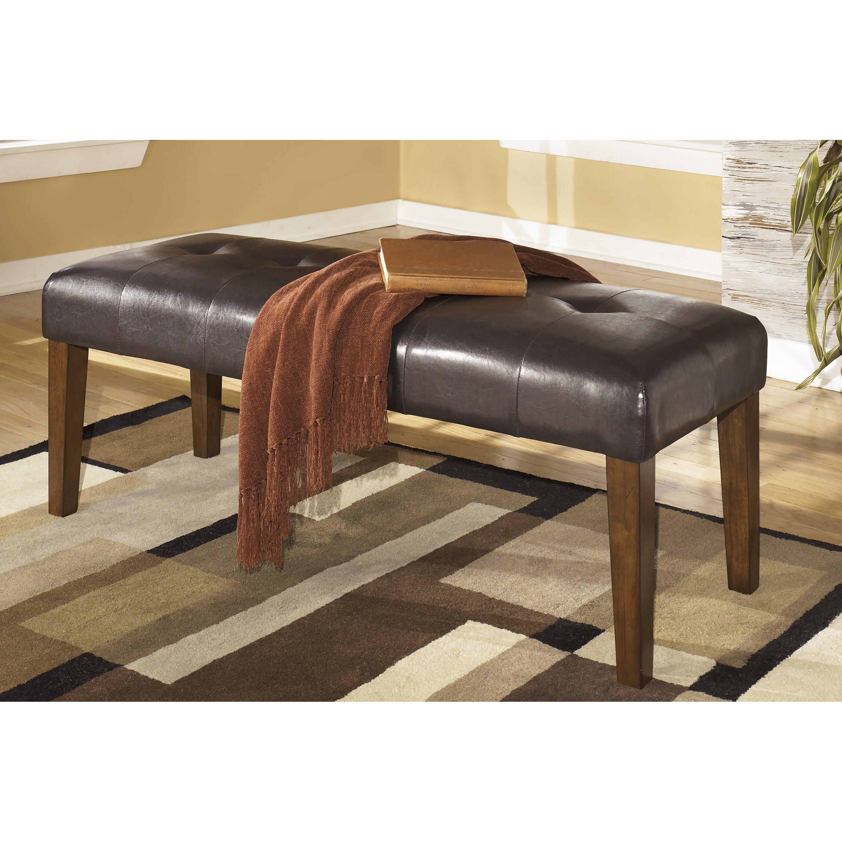 Red Barrel Studio DeMastro Upholstered Kitchen Bench