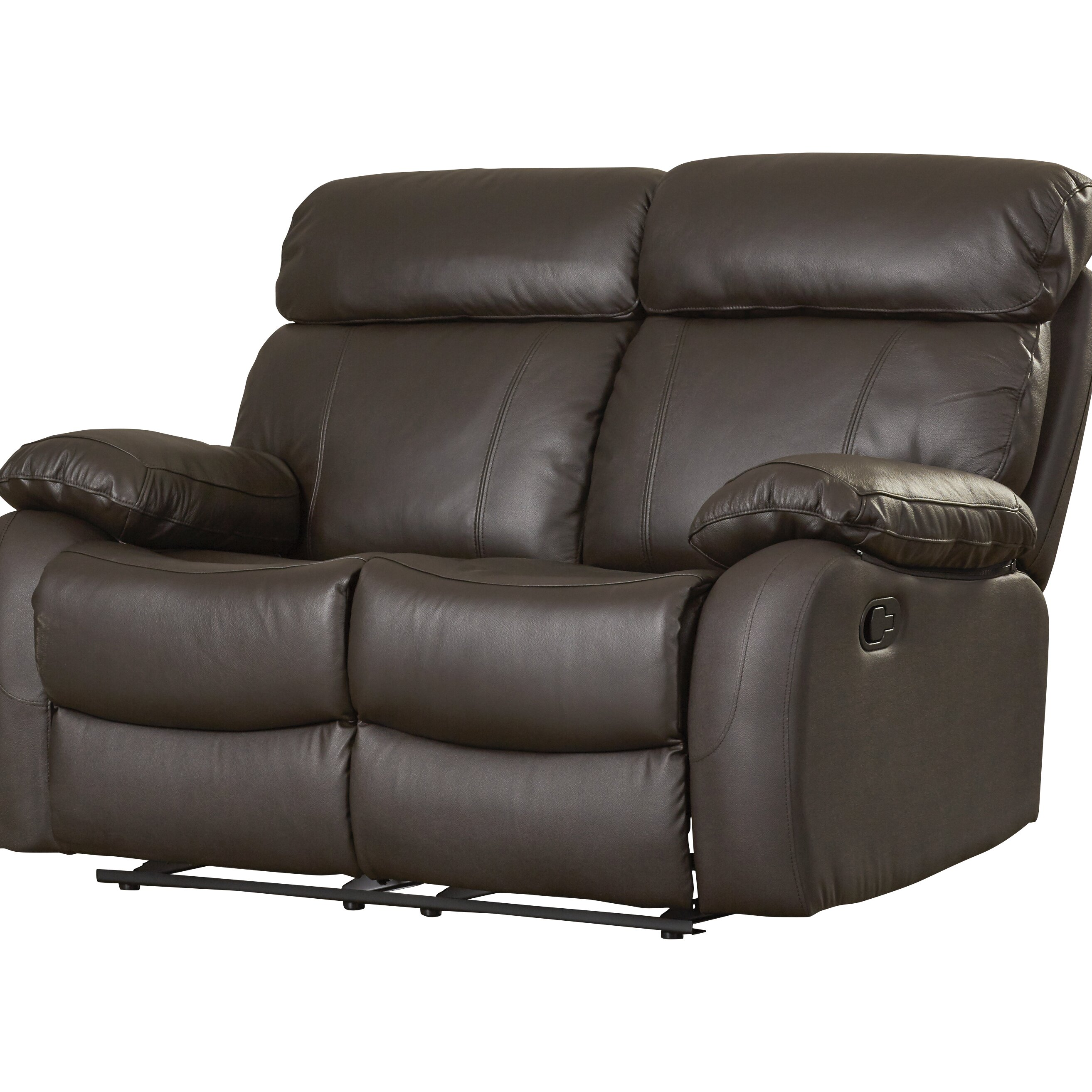 Red Barrel Studio Franciscan Reclining Loveseat Wayfair