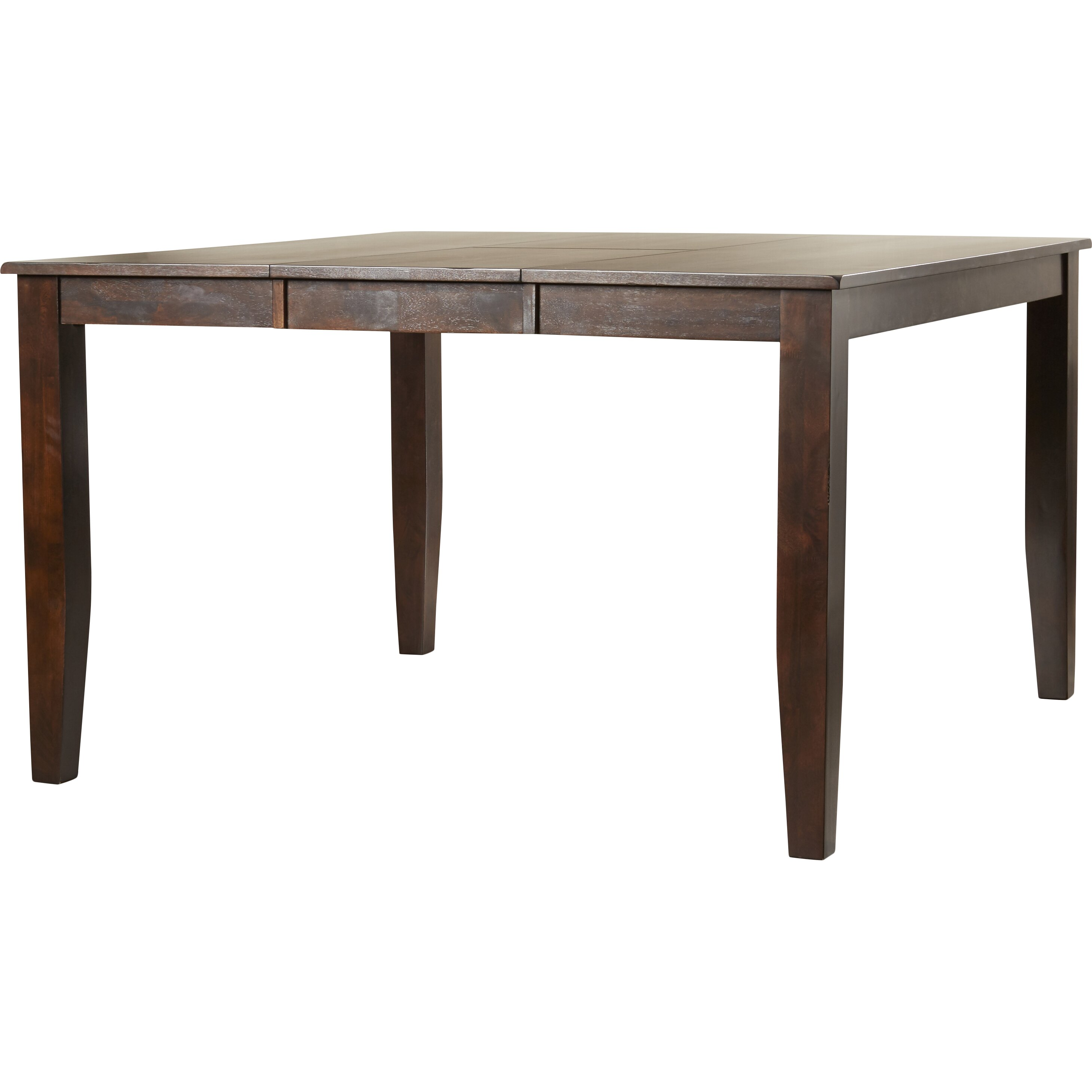 Red barrel studio carriage hill counter height extendable for Counter height extendable dining table