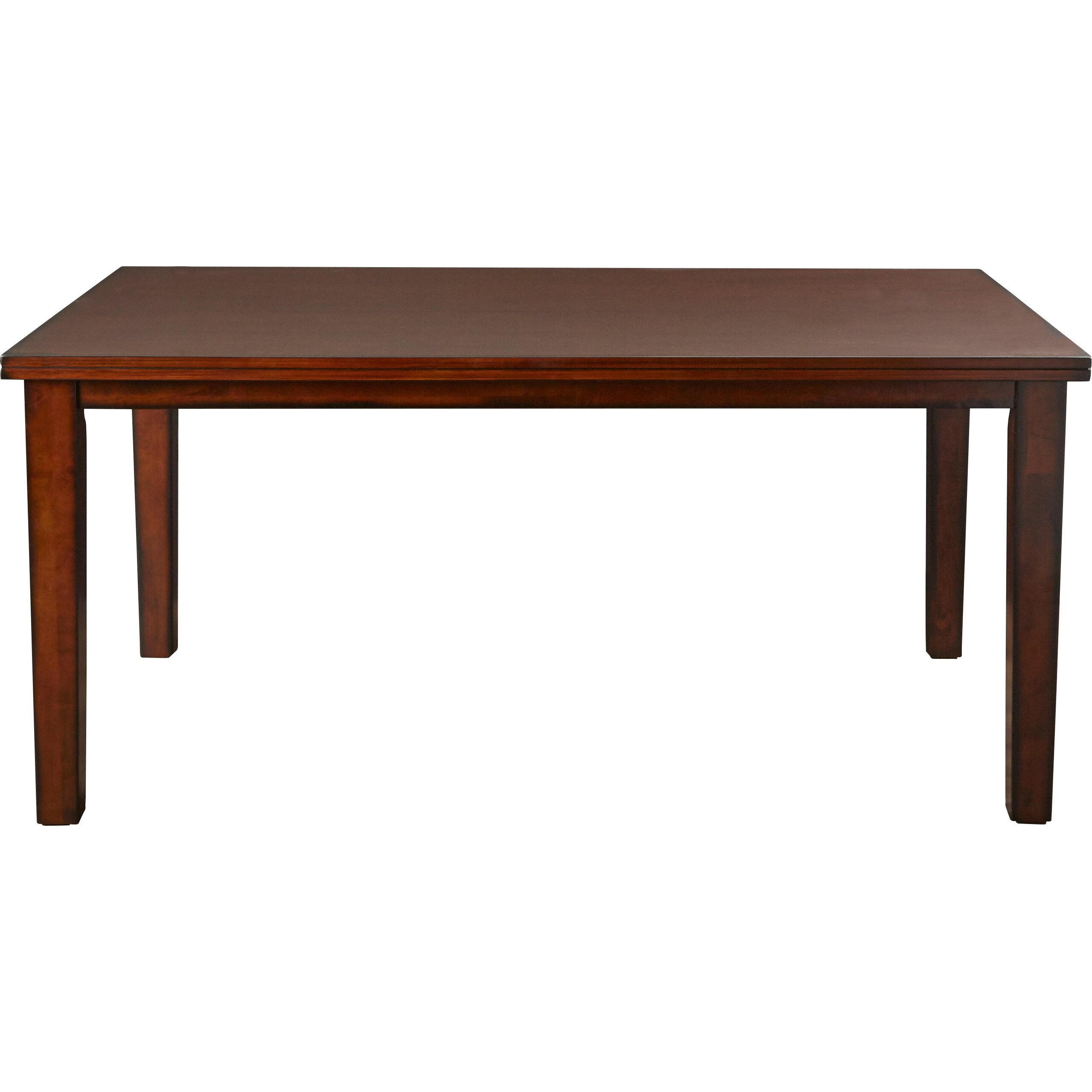 Red barrel studio kauai dining table reviews wayfair for Red dining table