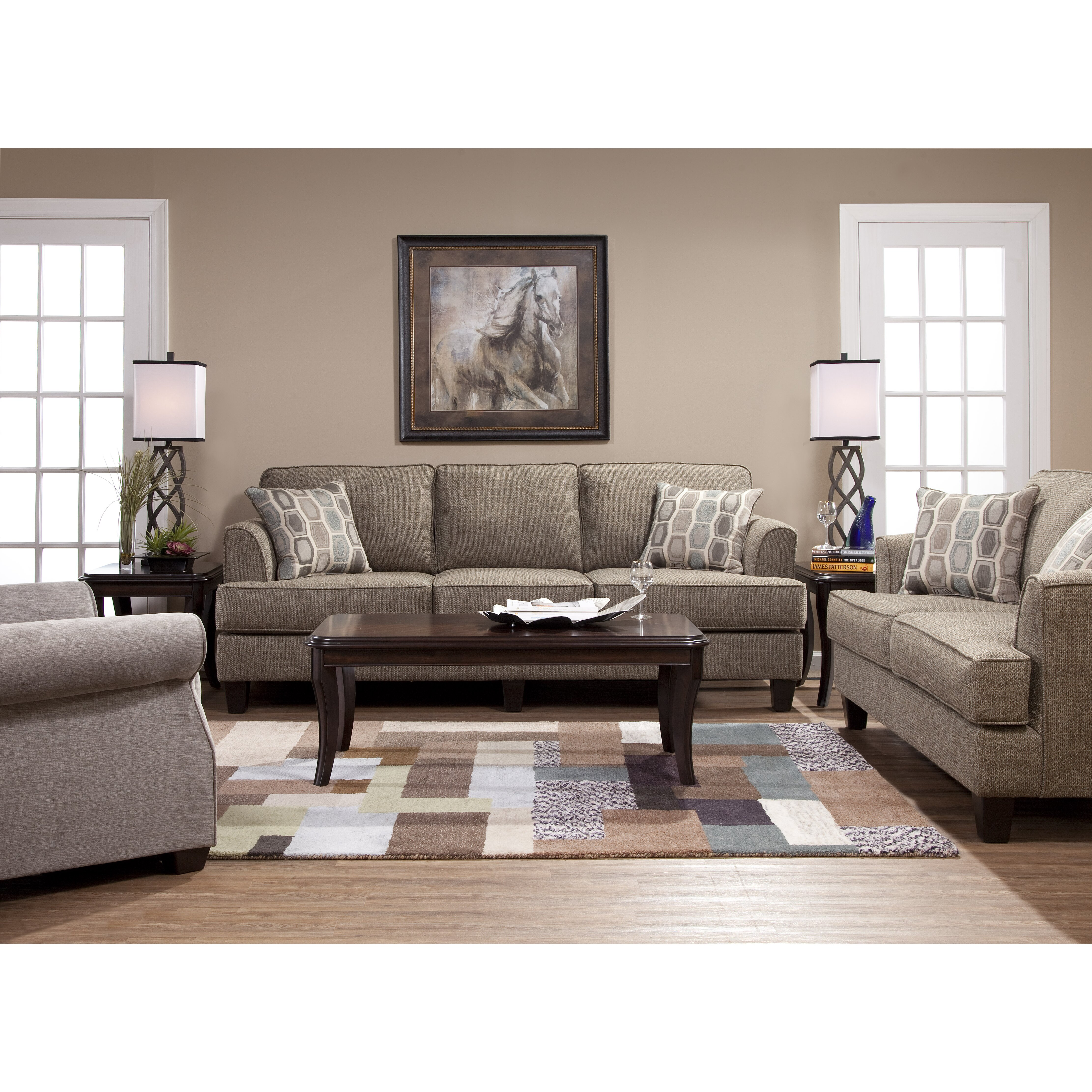 Red barrel studio serta upholstery dallas living room Living room furniture dallas