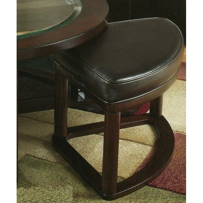 Red Barrel Studio Plumwood Coffee Table With Nested Stools