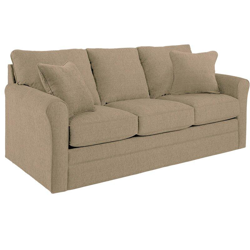 La Z Boy Leah Supreme Comfort Queen Sleeper Sofa   Wayfair