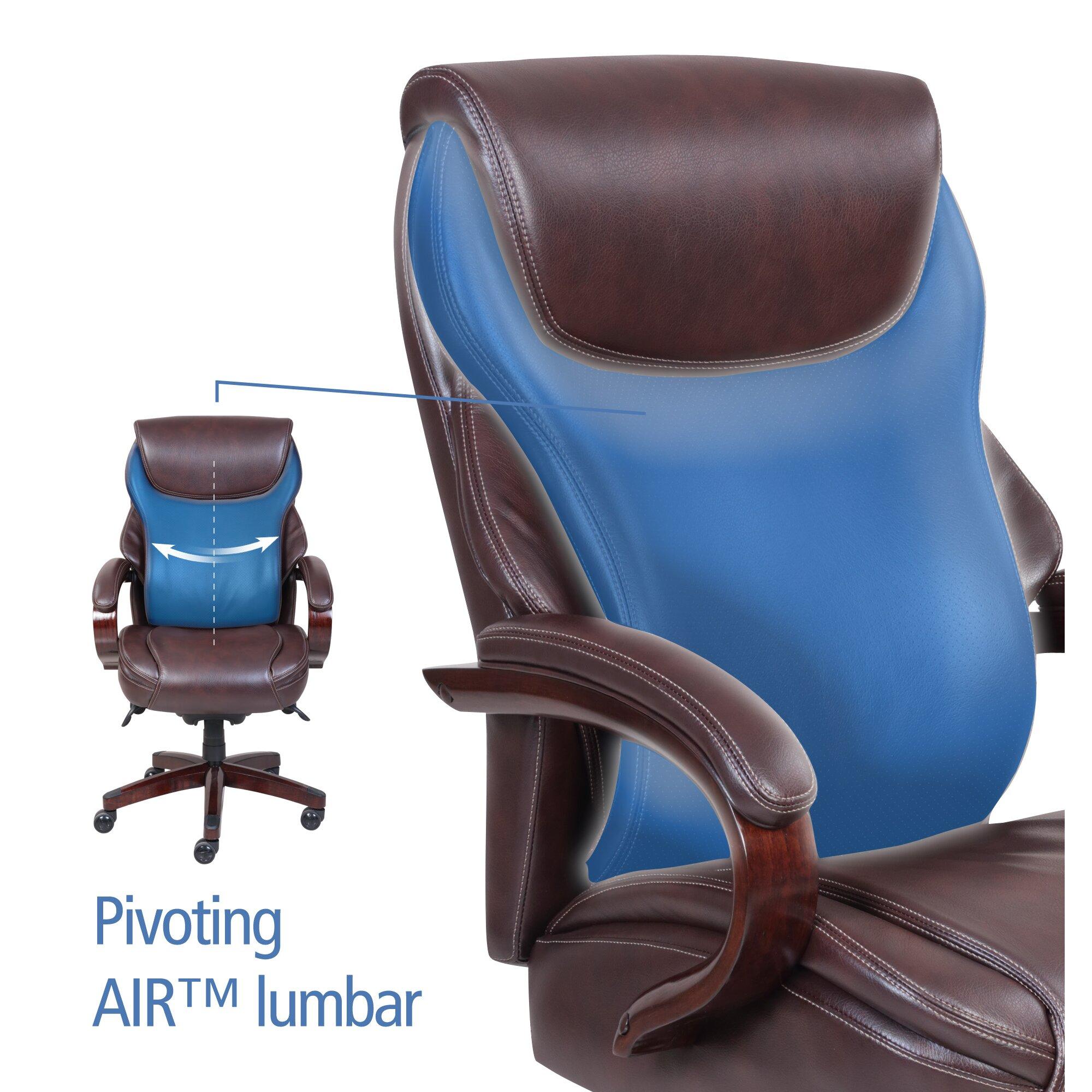 La-Z-Boy Hyland High-Back Executive Office Chair & Reviews ...