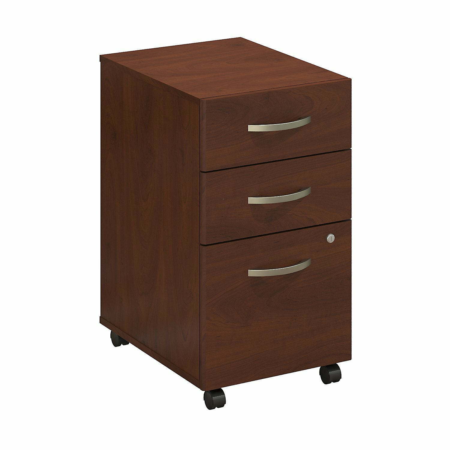 Bush business furniture series c elite 3 drawer mobile for Mobile furniture