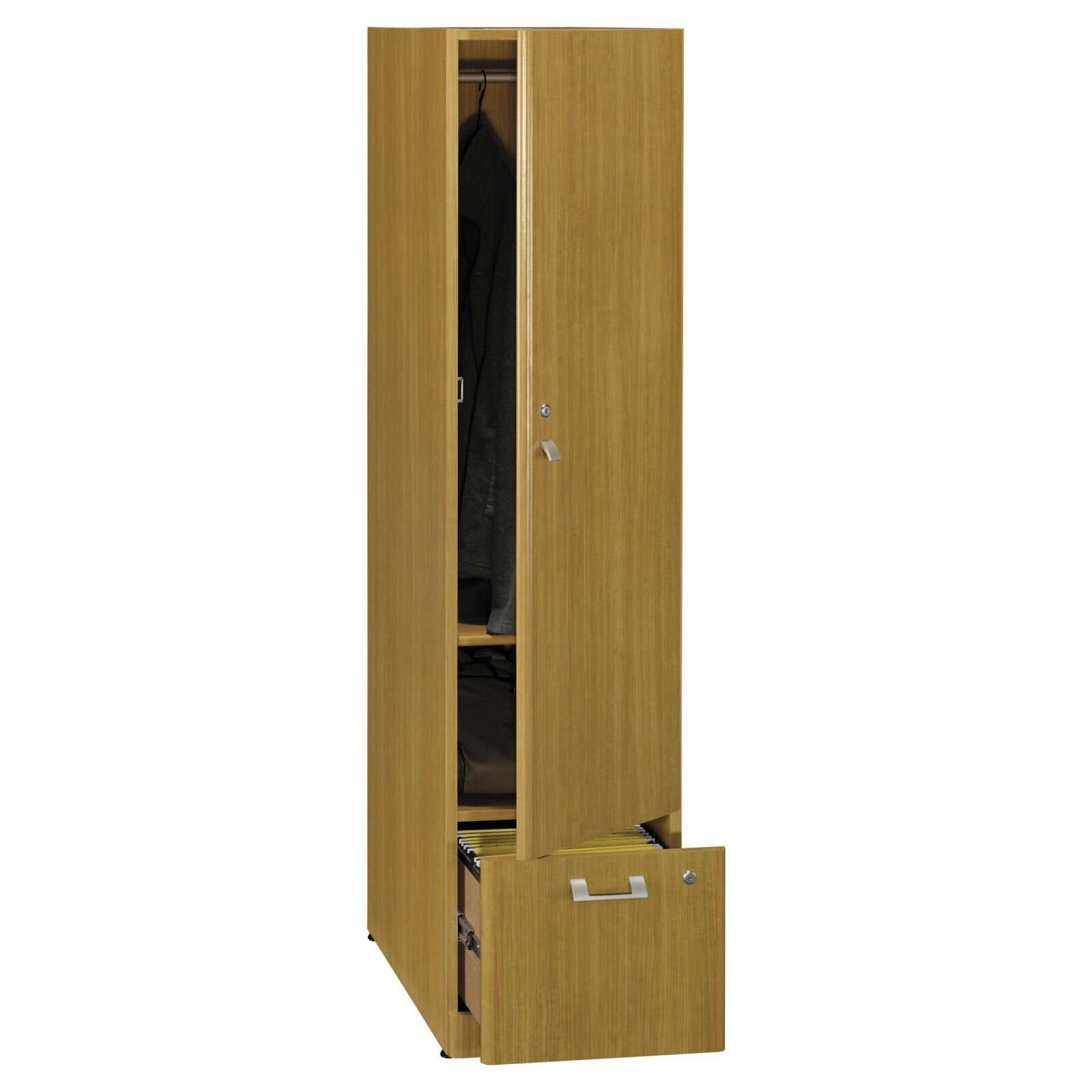 Bush business furniture quantum 1 door storage cabinet for 1 door cabinet
