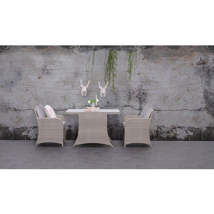 gardenimpressions 3 tlg balkon set muna mit kissen. Black Bedroom Furniture Sets. Home Design Ideas