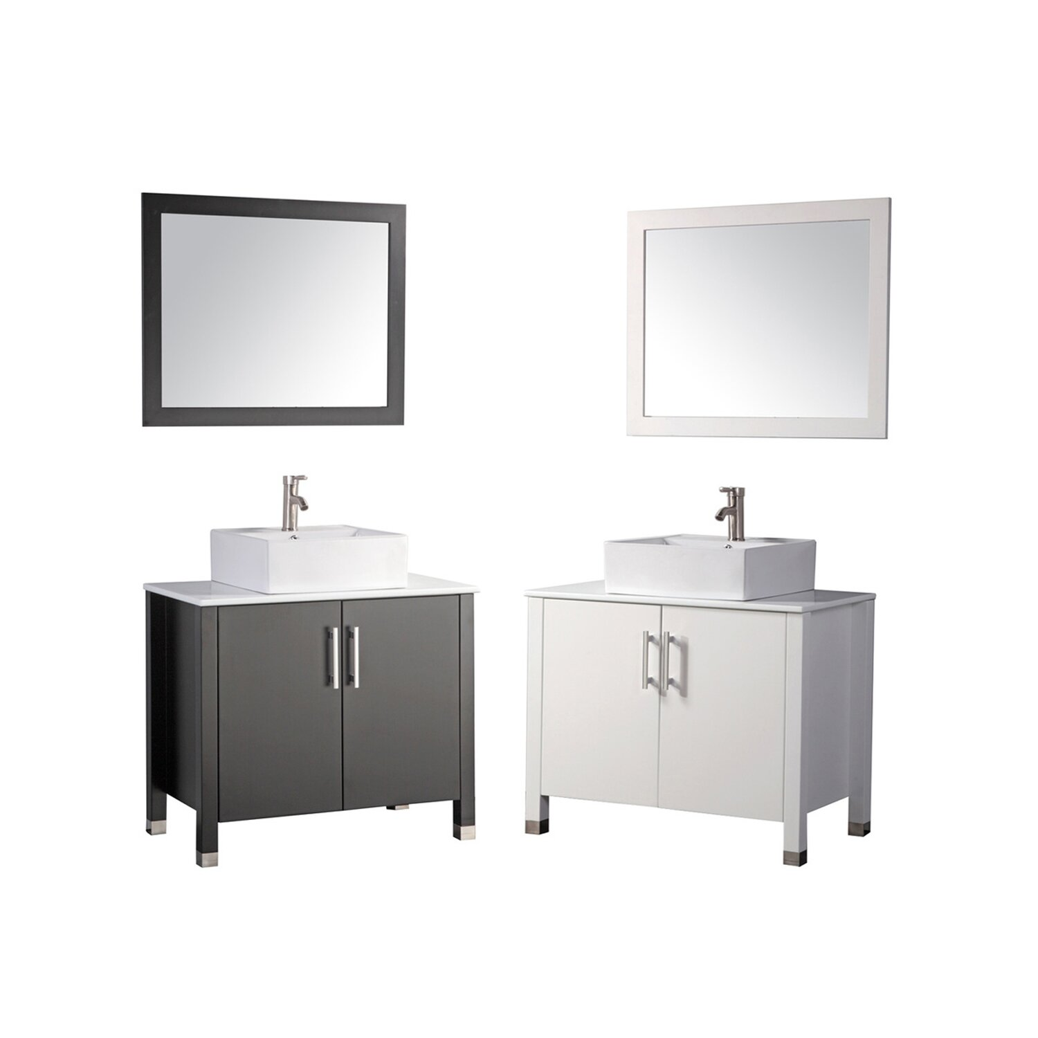 mtd vanities aruba 36 single sink bathroom vanity set with mirror