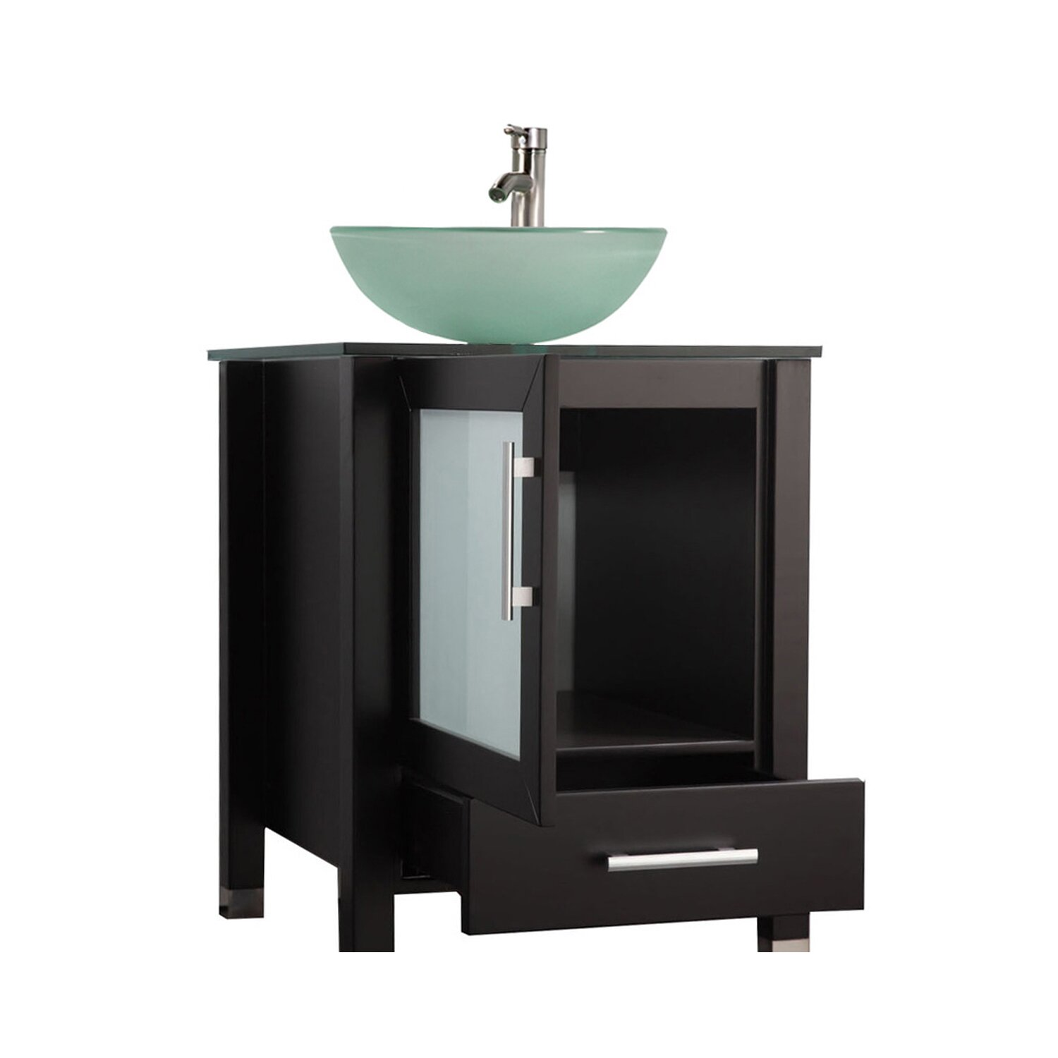 Mtdvanities Cuba 24 Single Sink Bathroom Vanity Set With