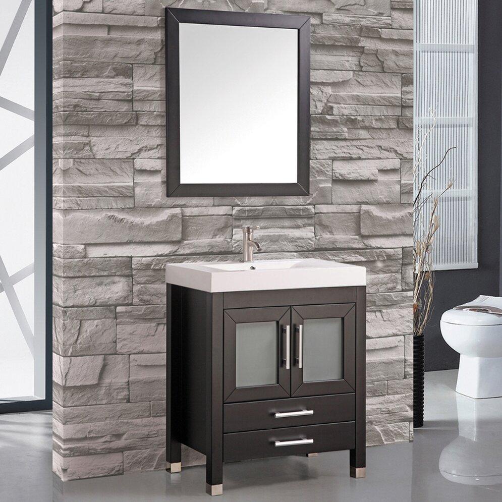 Mtdvanities greece 30 single sink bathroom vanity set - 30 inch single sink bathroom vanity ...