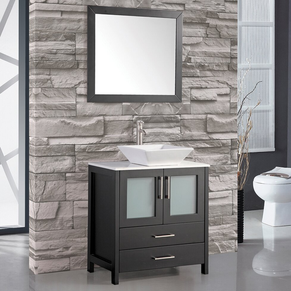 "mtdvanities jordan 30"" single sink bathroom vanity set"