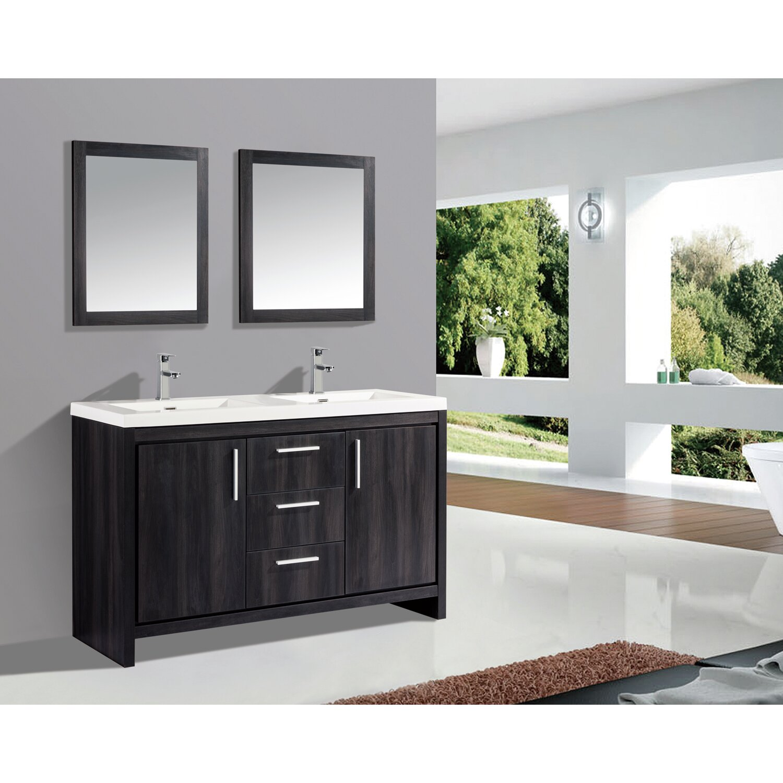 59 double sink bathroom vanity