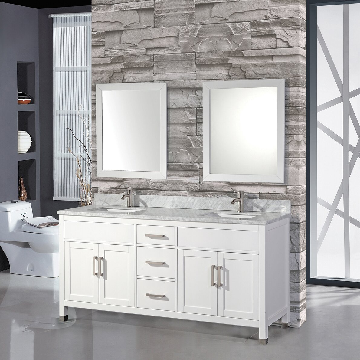 84 bathroom vanity double sink mtdvanities ricca 84 quot sink bathroom vanity set with 21884