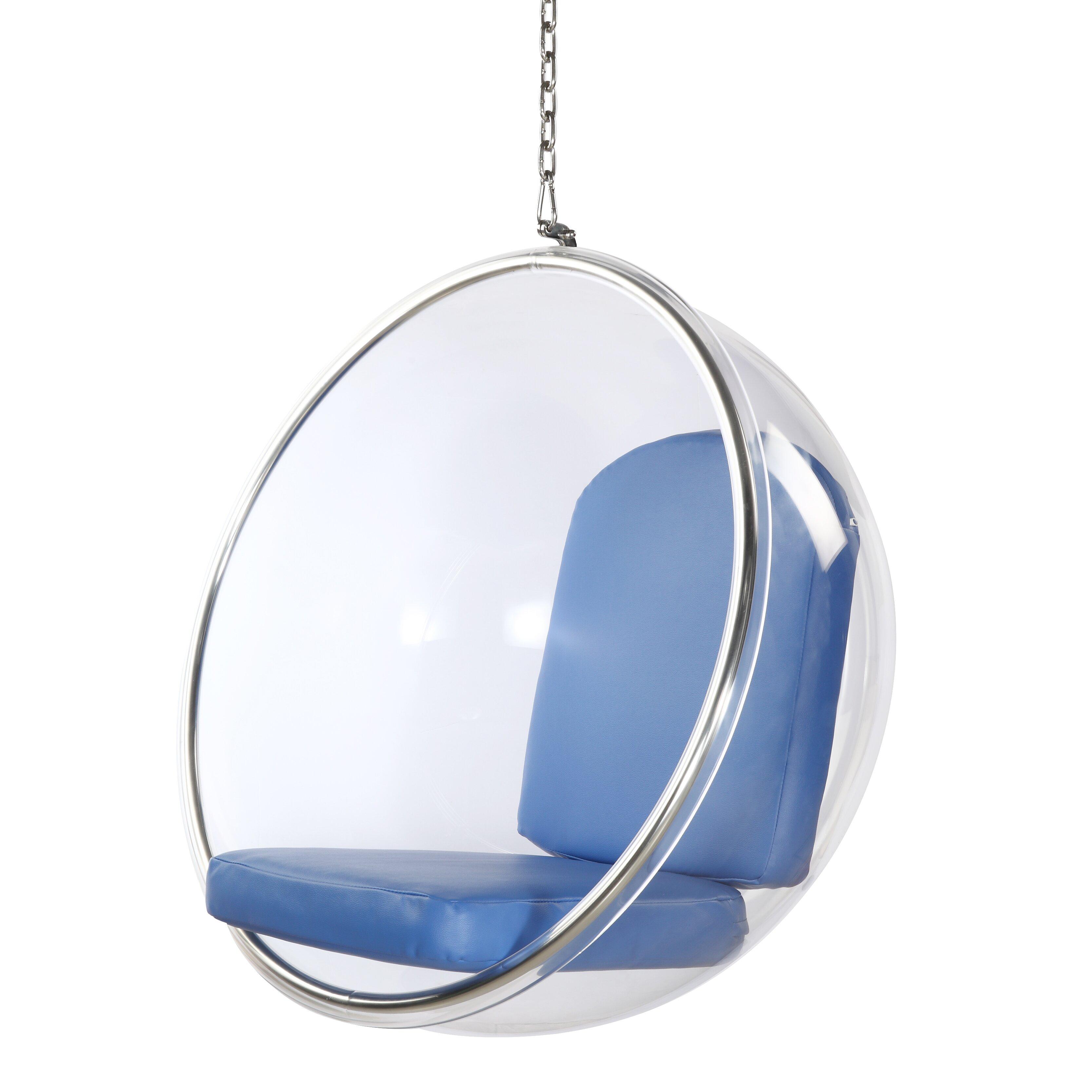 fine mod imports bubble lounge chair reviews wayfair. Black Bedroom Furniture Sets. Home Design Ideas