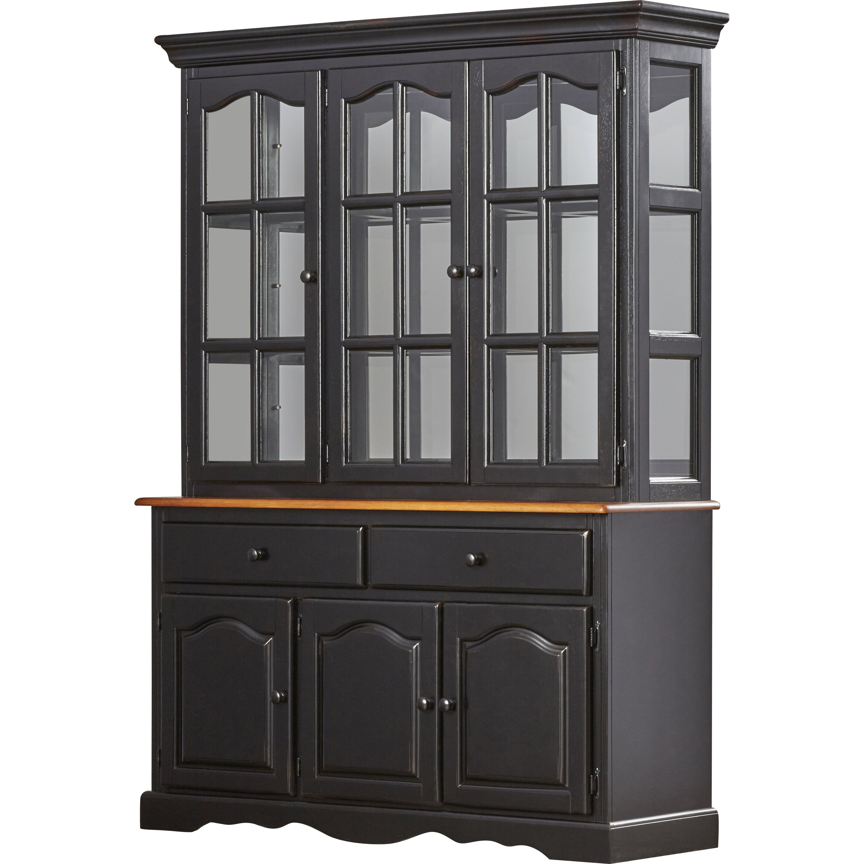 Sunset trading sunset selections dining china cabinet for Dining cabinet furniture