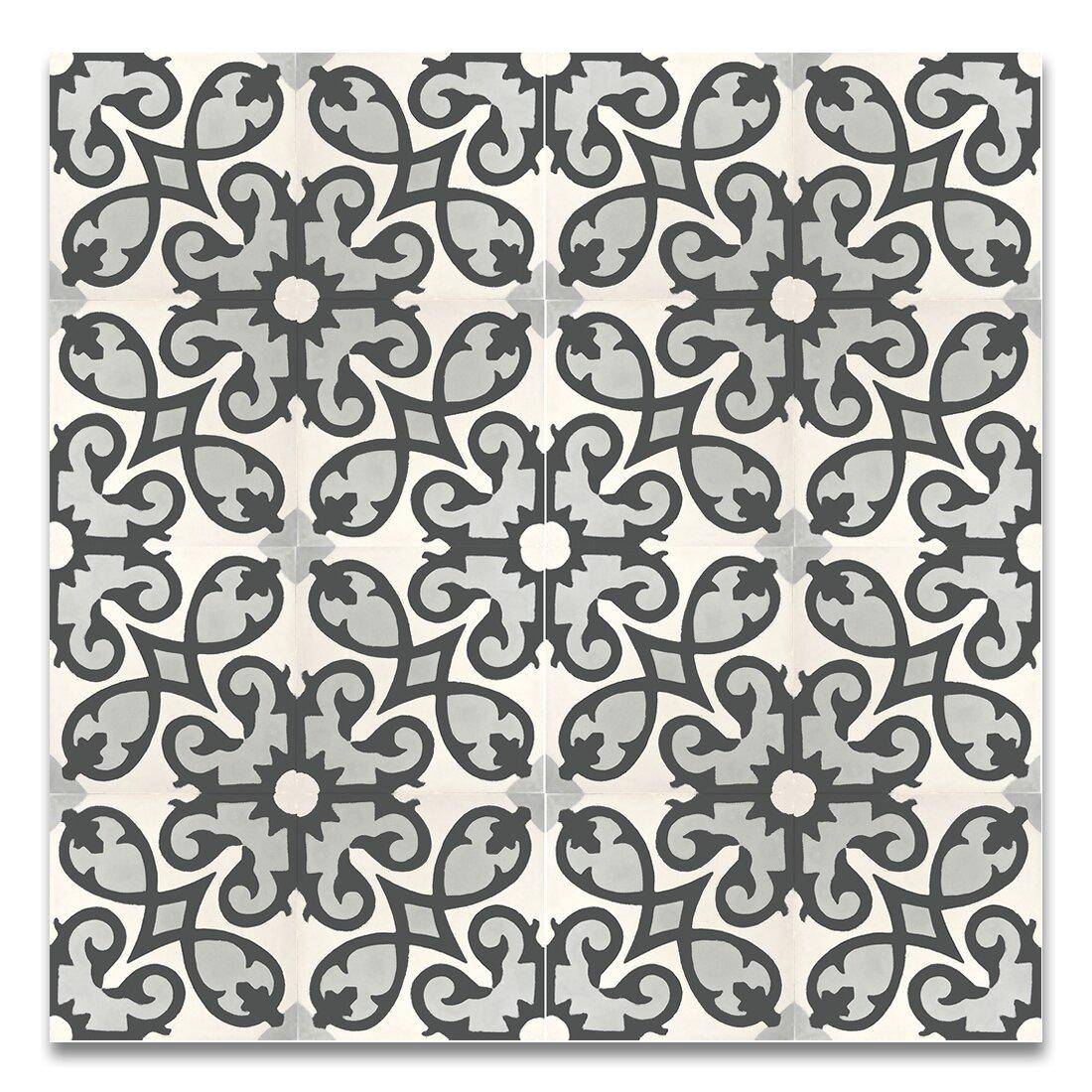 Moroccan Mosaic Tile House Agadir 8 Quot X 8 Quot Cement Field